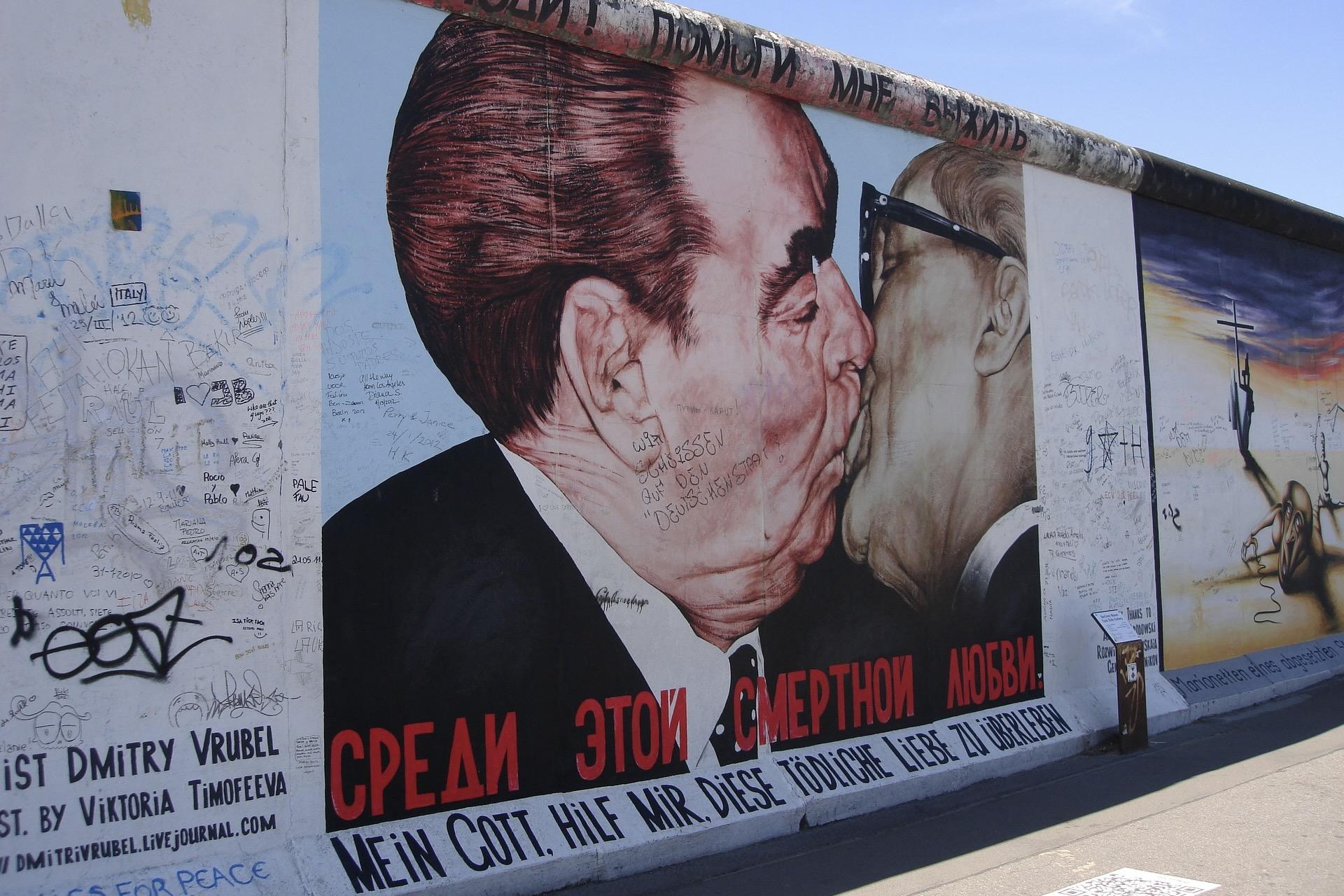 Berlin mit der East Side Gallery ist eine der schönsten Städte in Europa