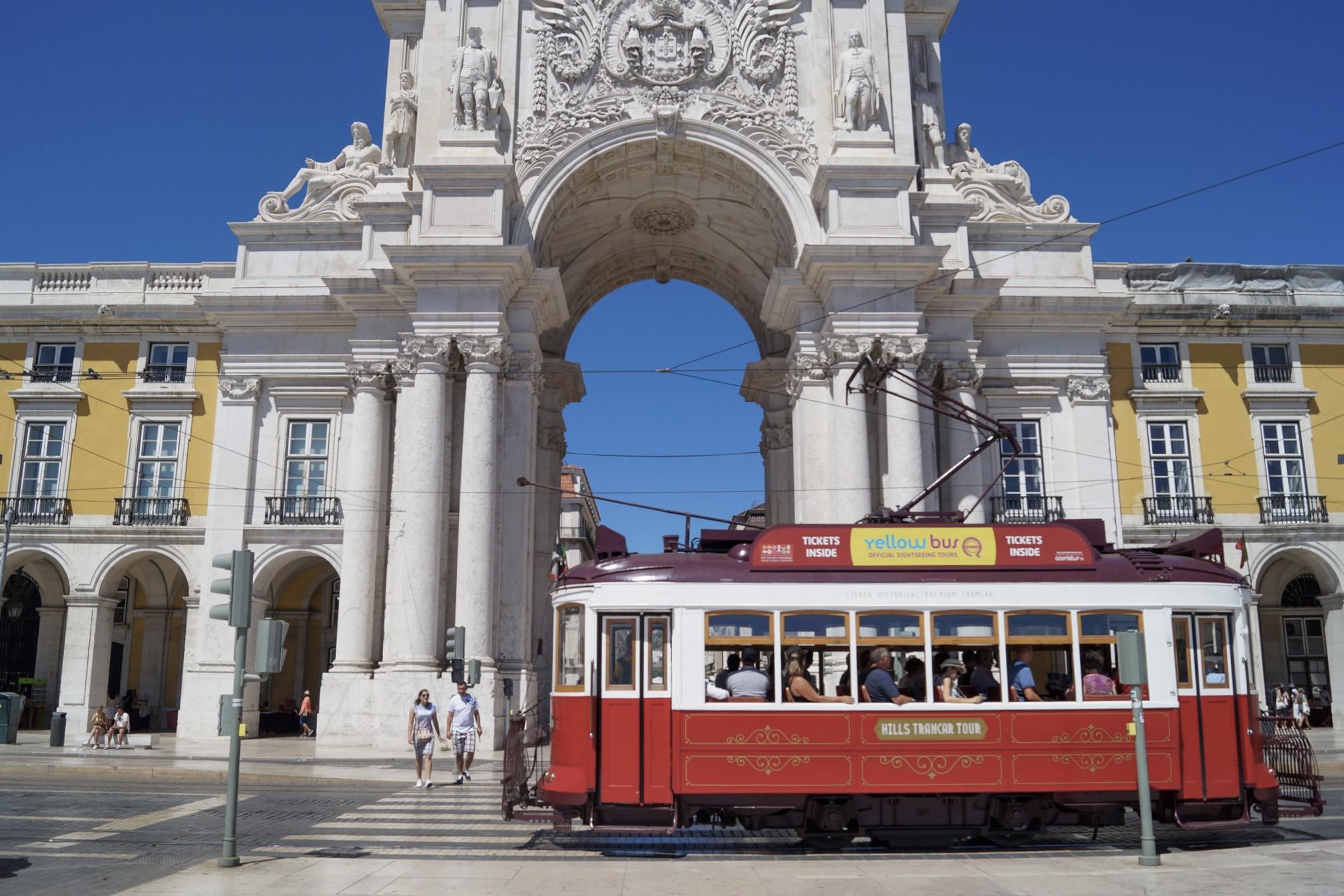 Lissabon ist eine der schönsten Städte in Europa