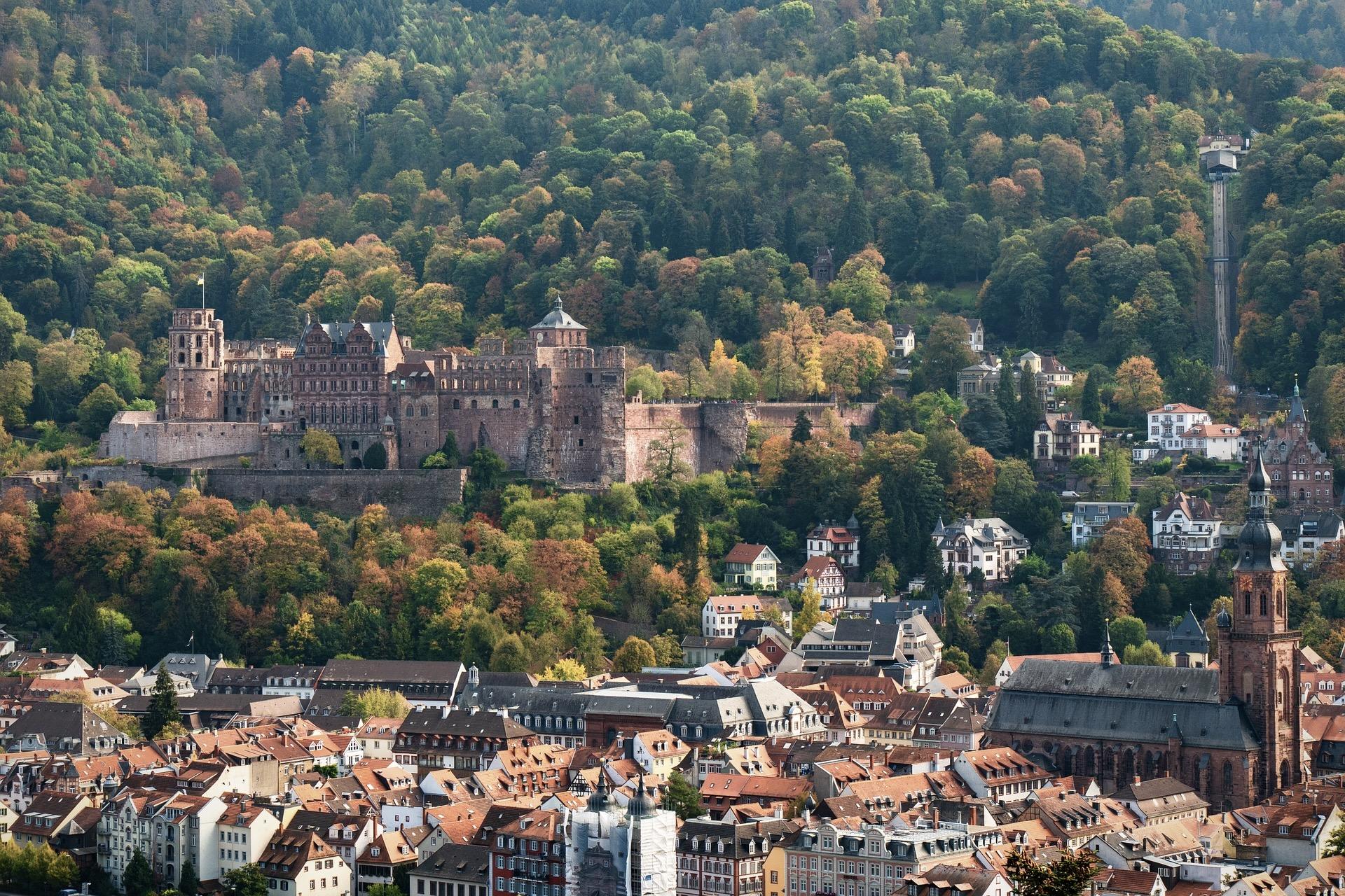 Schloss Heidelberg ist eine der meistbesuchten Sehenswürdigkeiten in Baden-Württemberg