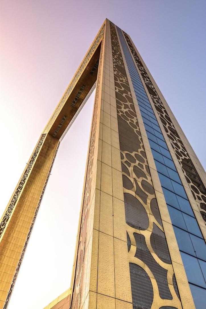 Dubai Frame ist eines der neuen Dubai Sehenswürdigkeiten