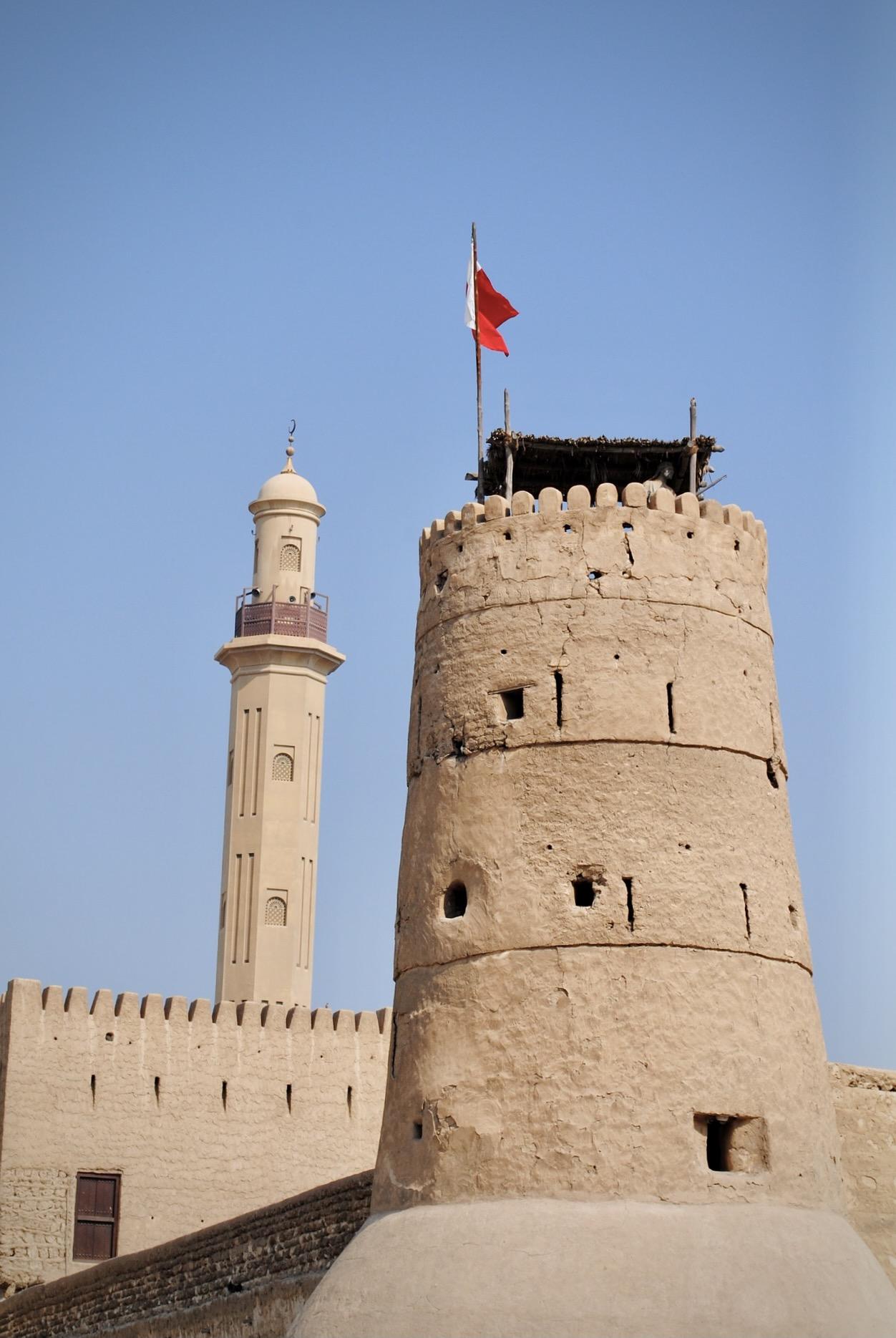 Das Dubai Museum in der Altstadt