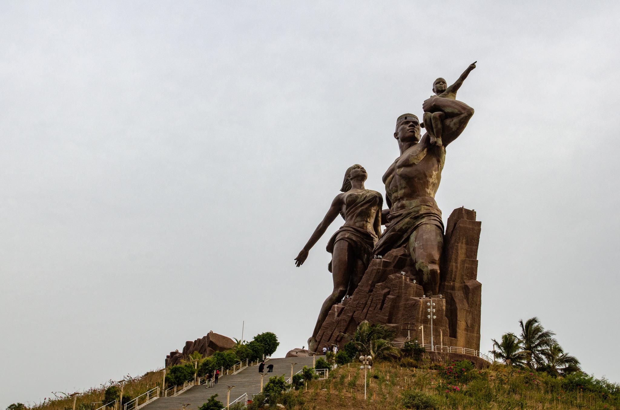 Senegal Sehenswürdigkeiten: Monument der Renaissance