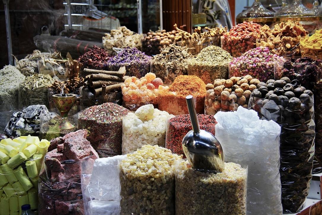Der Deira Gold Souk & Spice Souk sind zwei der Dubai Sehenswürdigkeiten