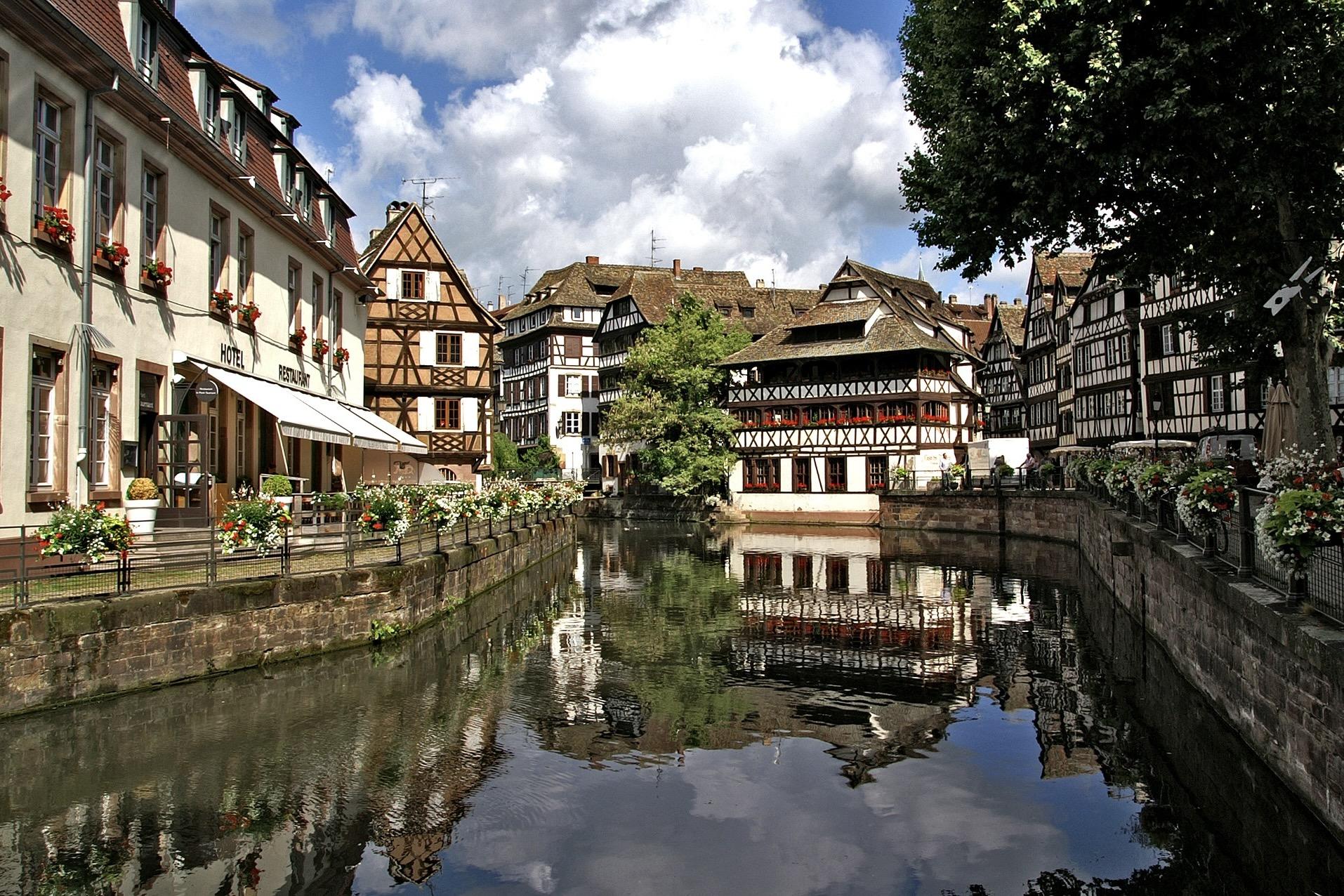 Innenstadt von Straßbourg