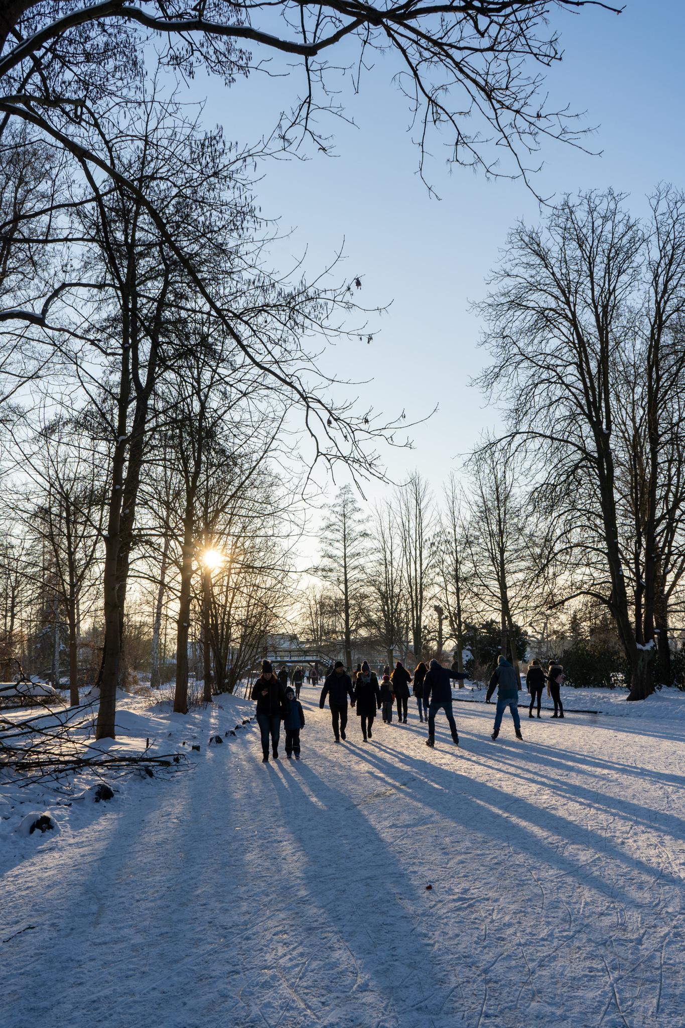 Lübbenau im Spreewald im Winter