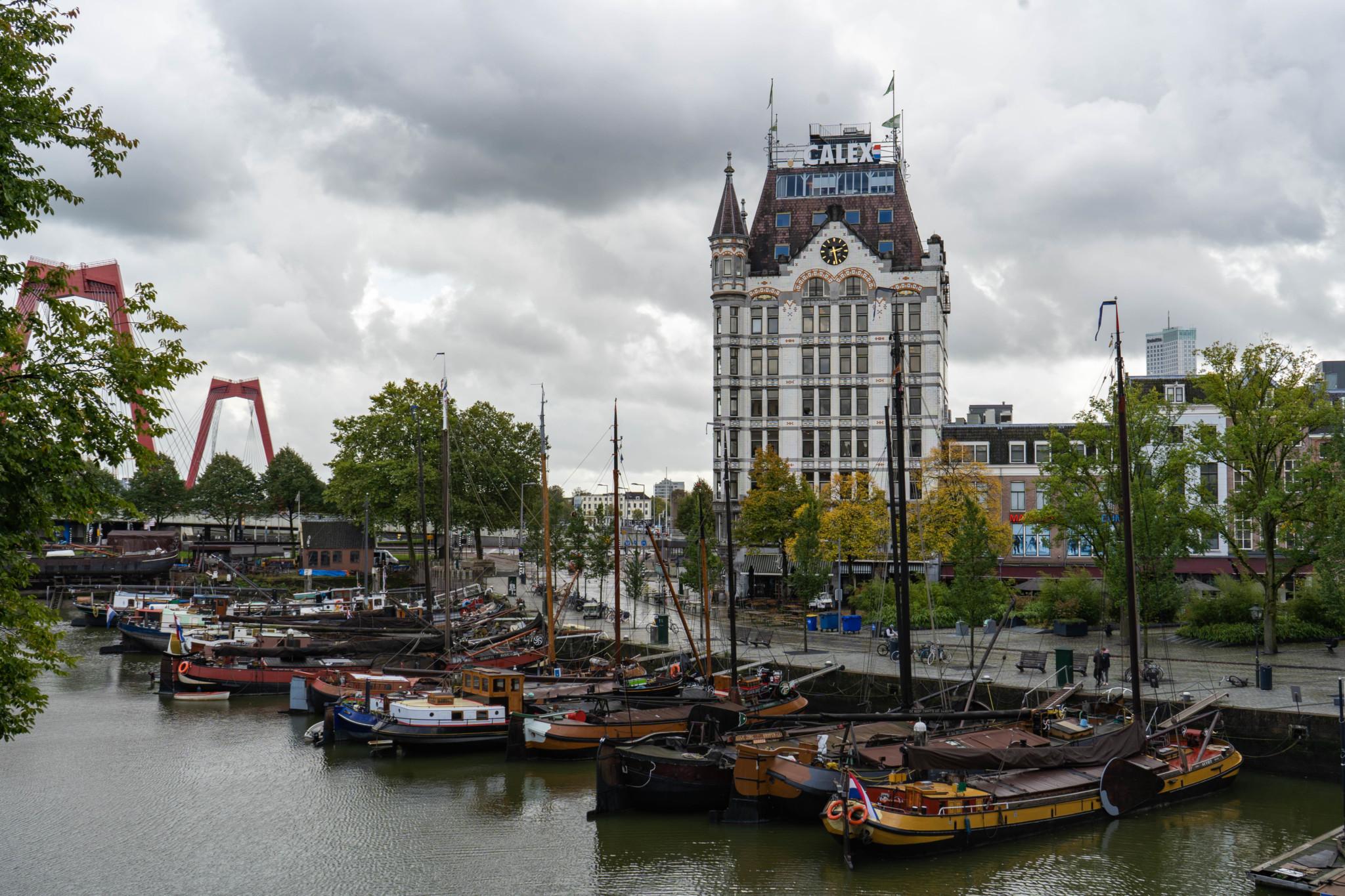 Berühmtes Witte Huis in Rotterdam