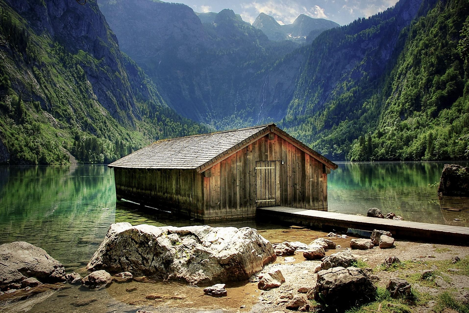 Die Hütte am Obersee beim Königssee ist auf Instagram beliebt
