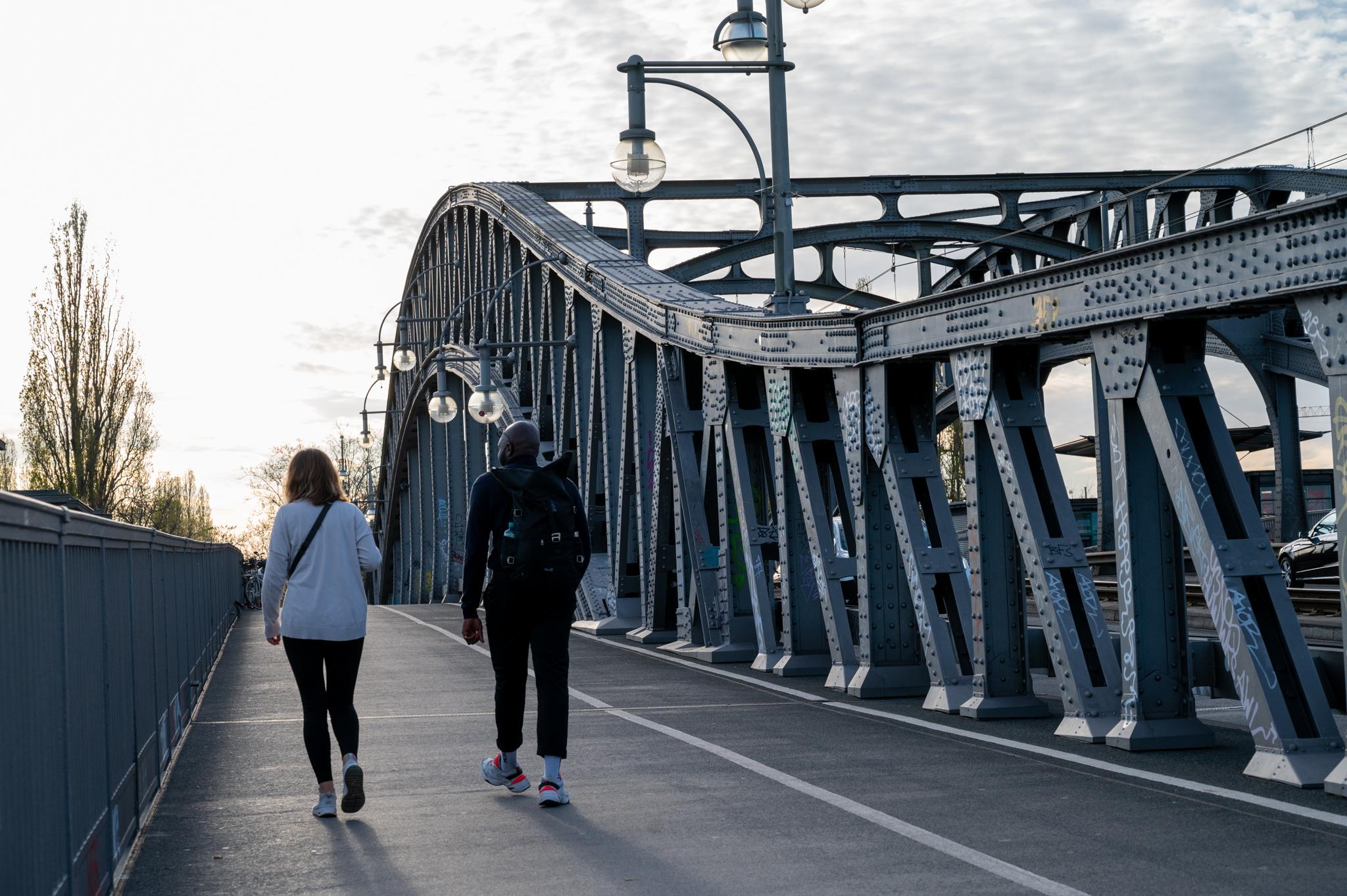 Die Bösebrücke gehört zu wichtigen Prenzlauer Berg Sehenswürdigkeiten