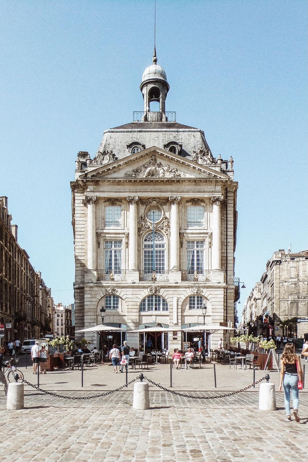 Bordeaux an der französischen Atlantikküste