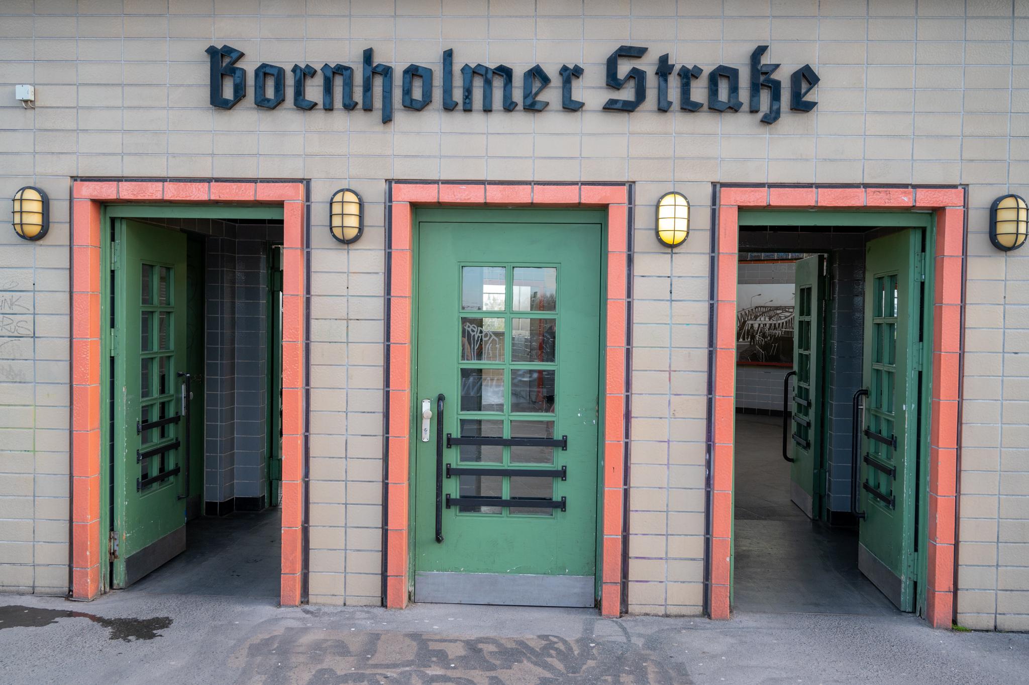 Bornholmer Straße in Prenzlauer Berg