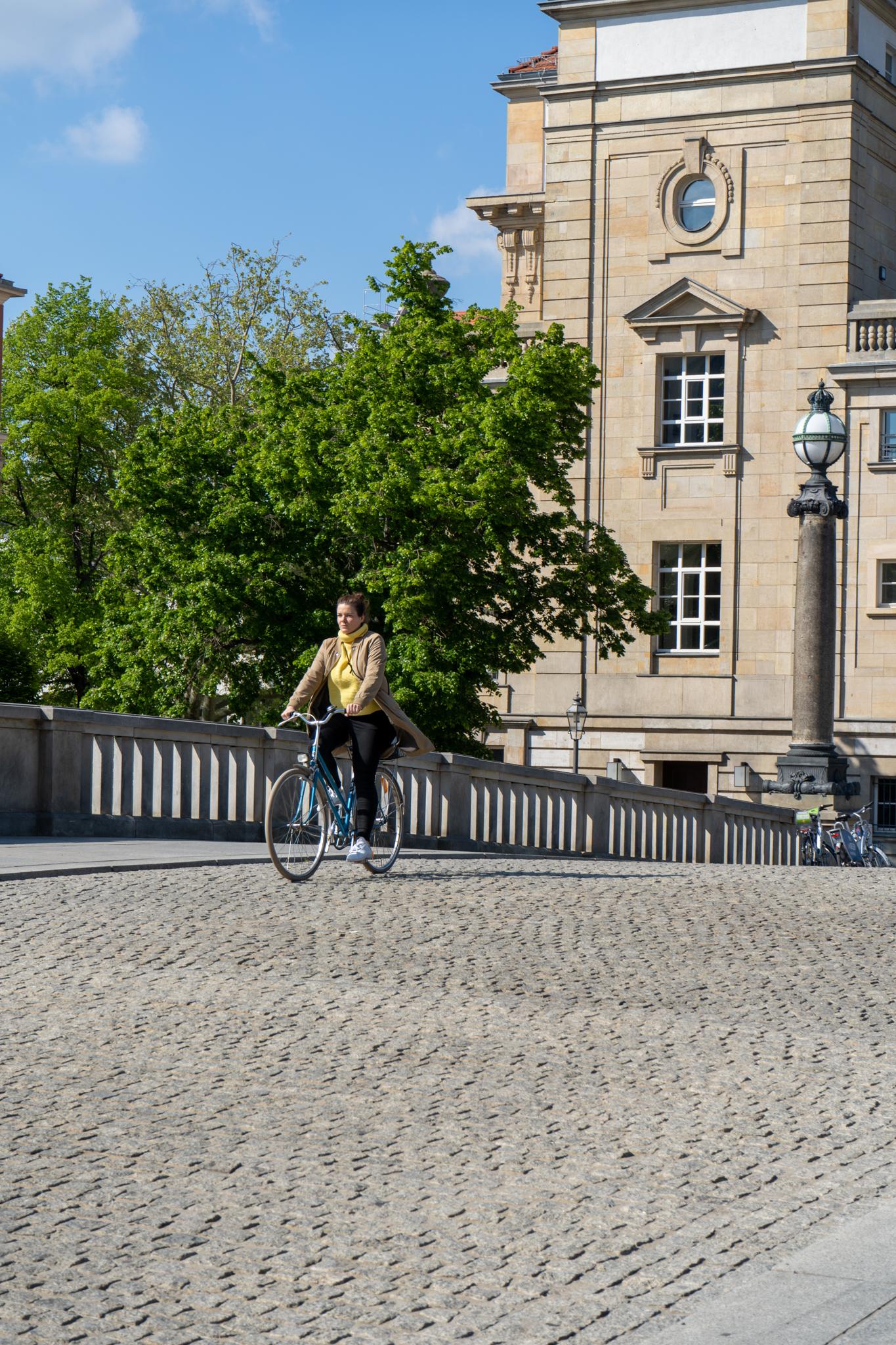 Mit dem Fahrrad zum Feierabend durch Berlin