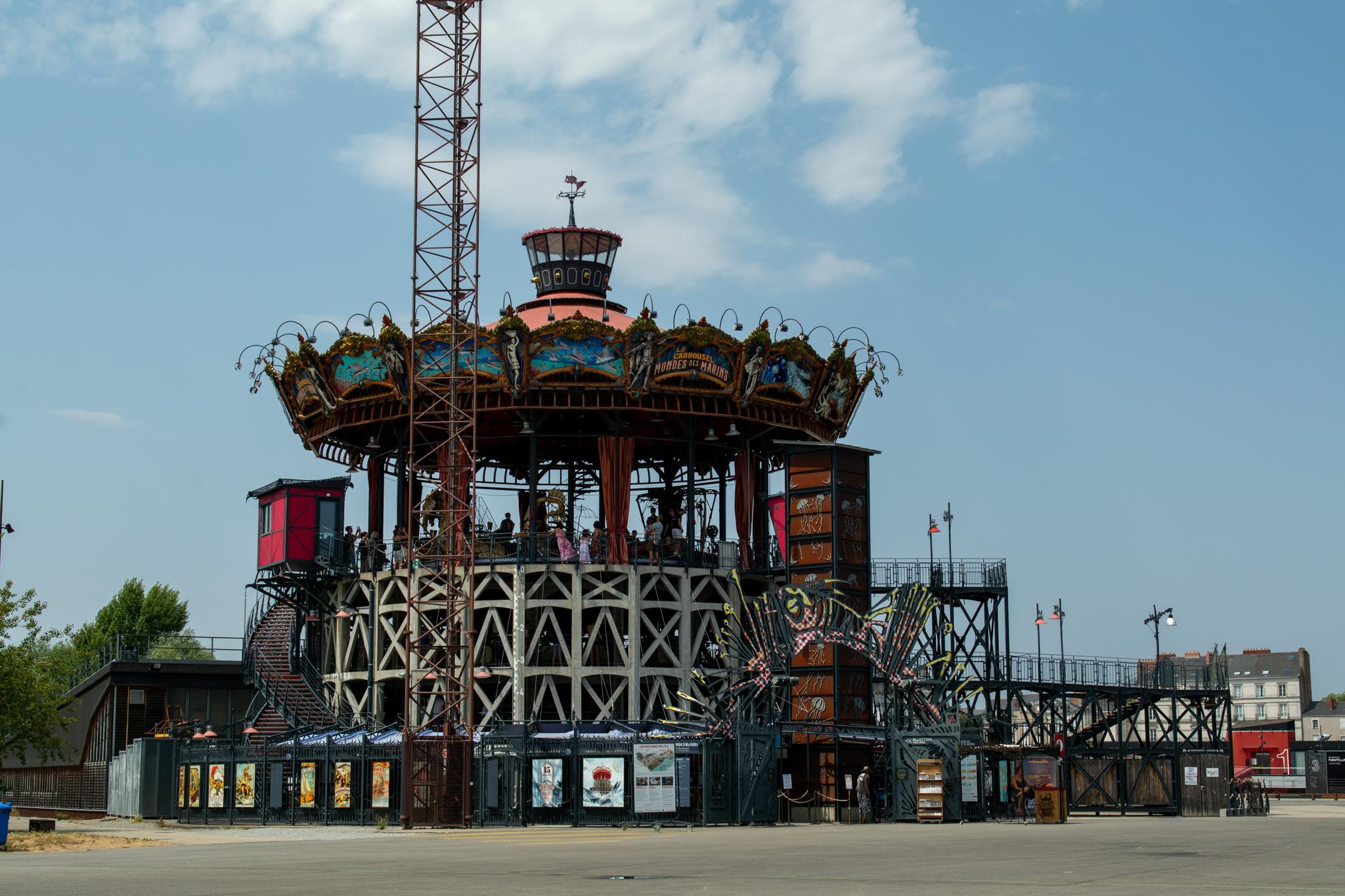 Le Carousel gehört zu den wichtigsten Nantes Sehenswürdigkeiten