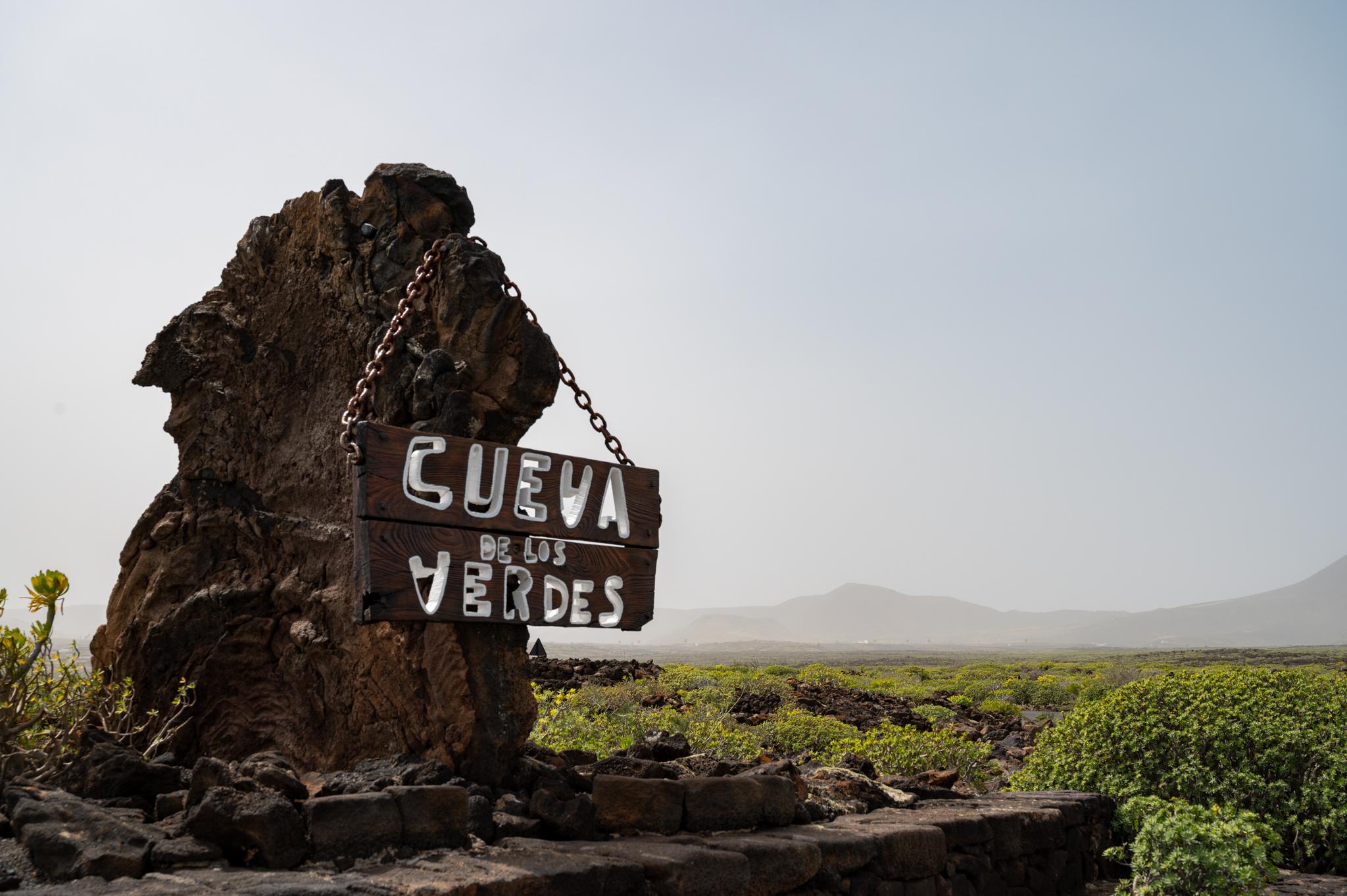 Eingang zur Cueva de los Verdes
