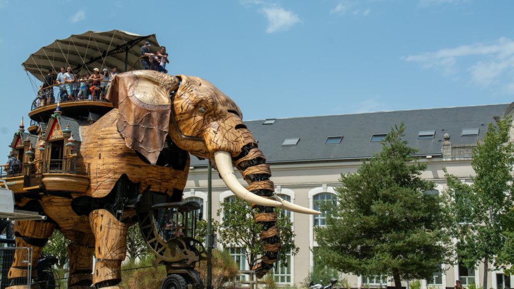 L'Elephant auf der Ile de Nantes