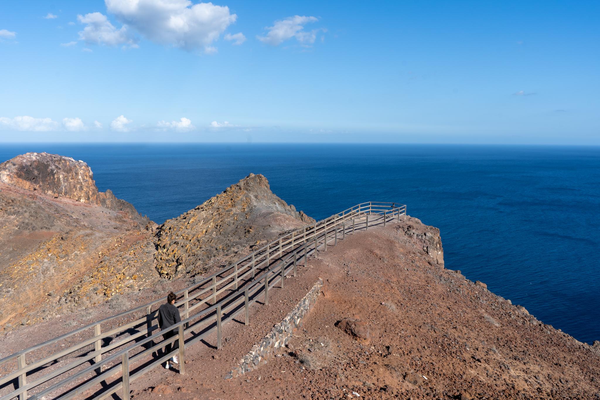 Ausblick vom Faro de Entallada