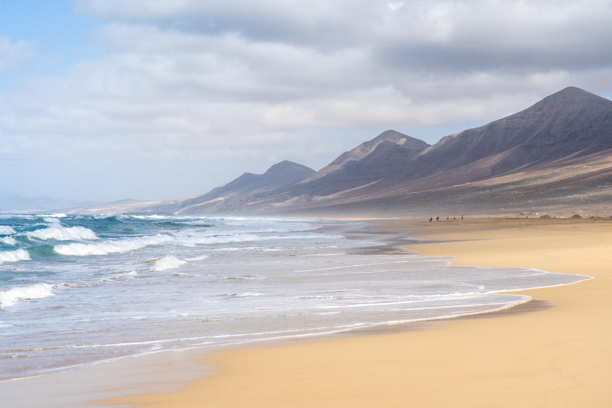 Cofete Strand in Fuerteventura