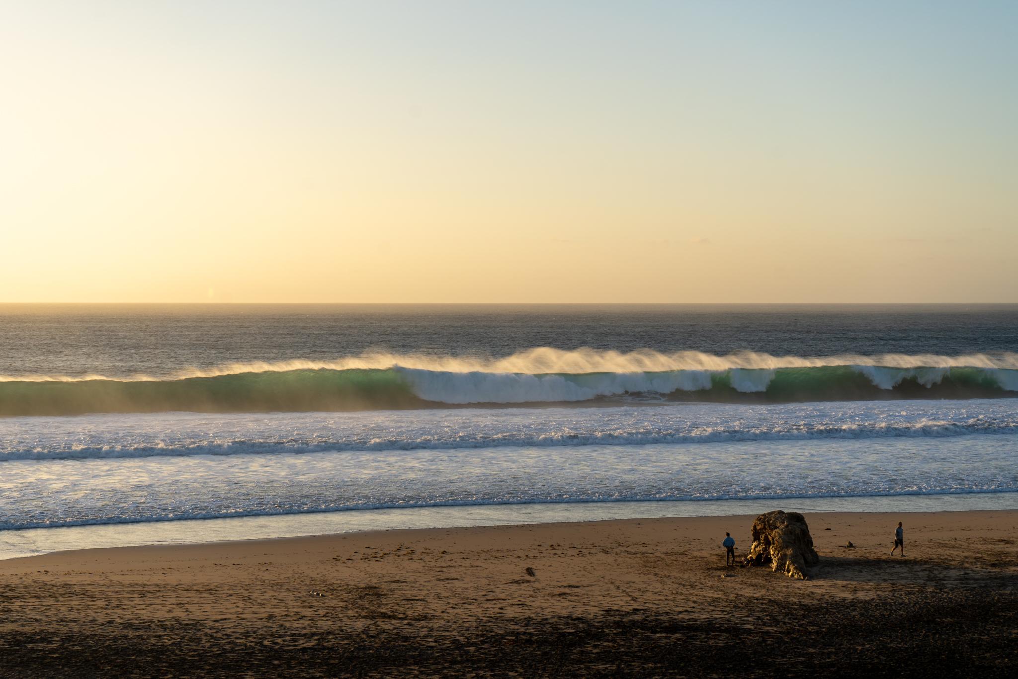 Sonnenuntergang am Strand von El Cotillo