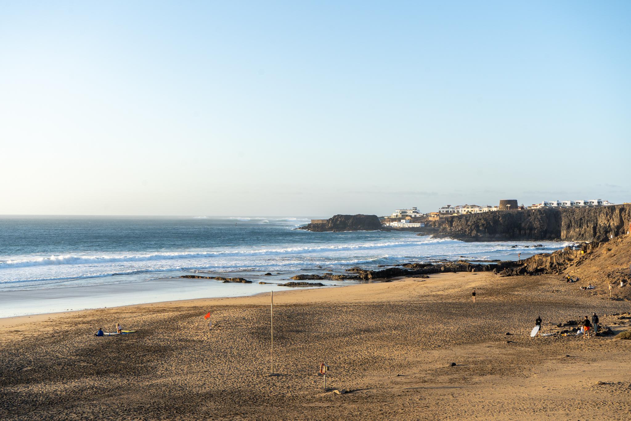 Playa Aguila in Cotillo auf Fuerteventura