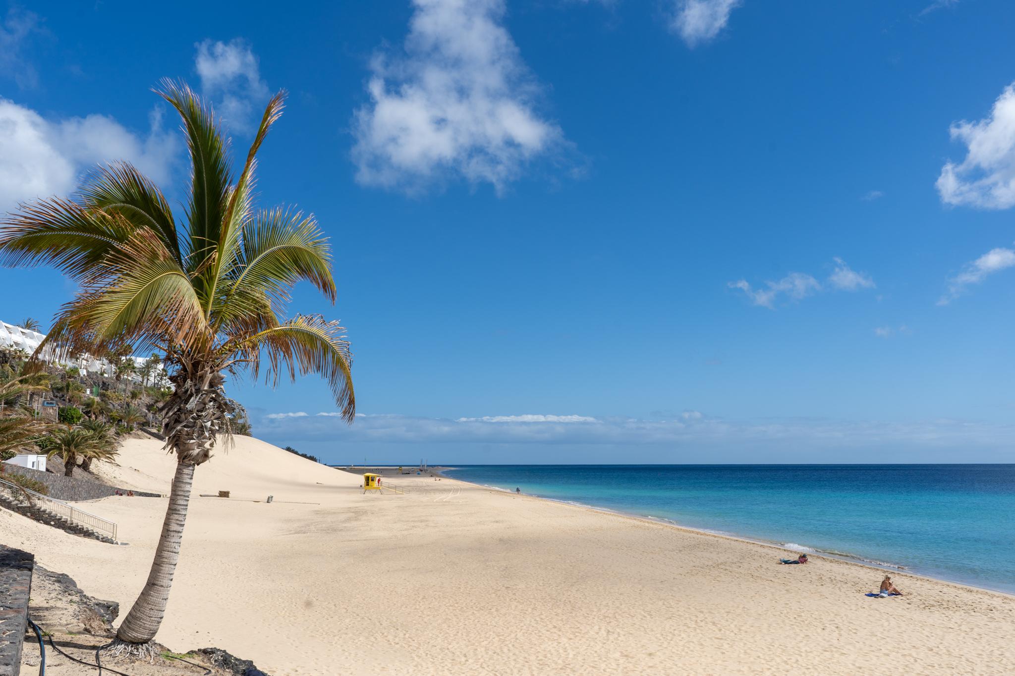 Playa Chica im Süden von Fuerteventura