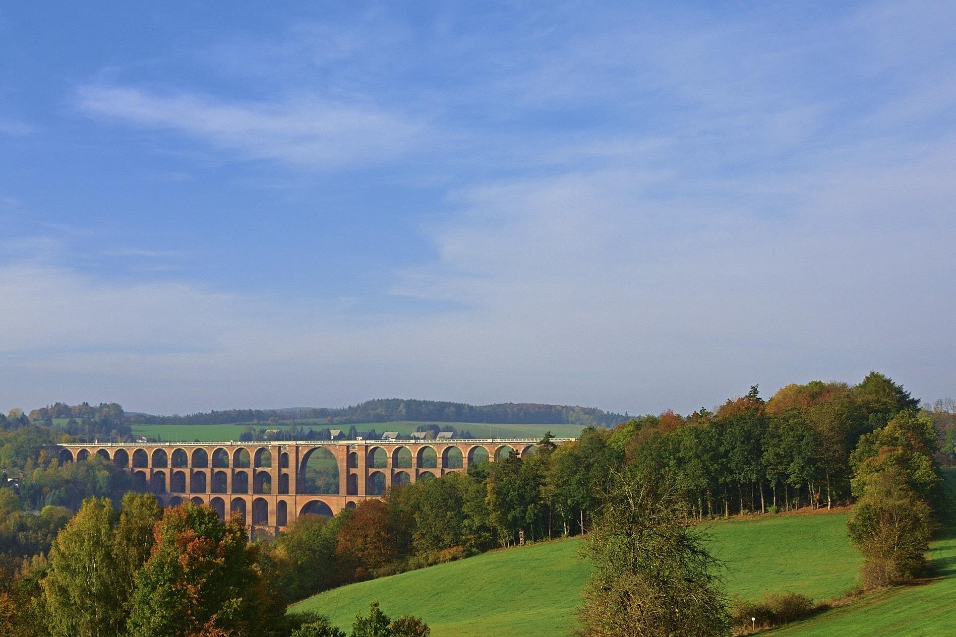 Vogtland gehört zu den beliebtesten Reisezielen in Sachsen