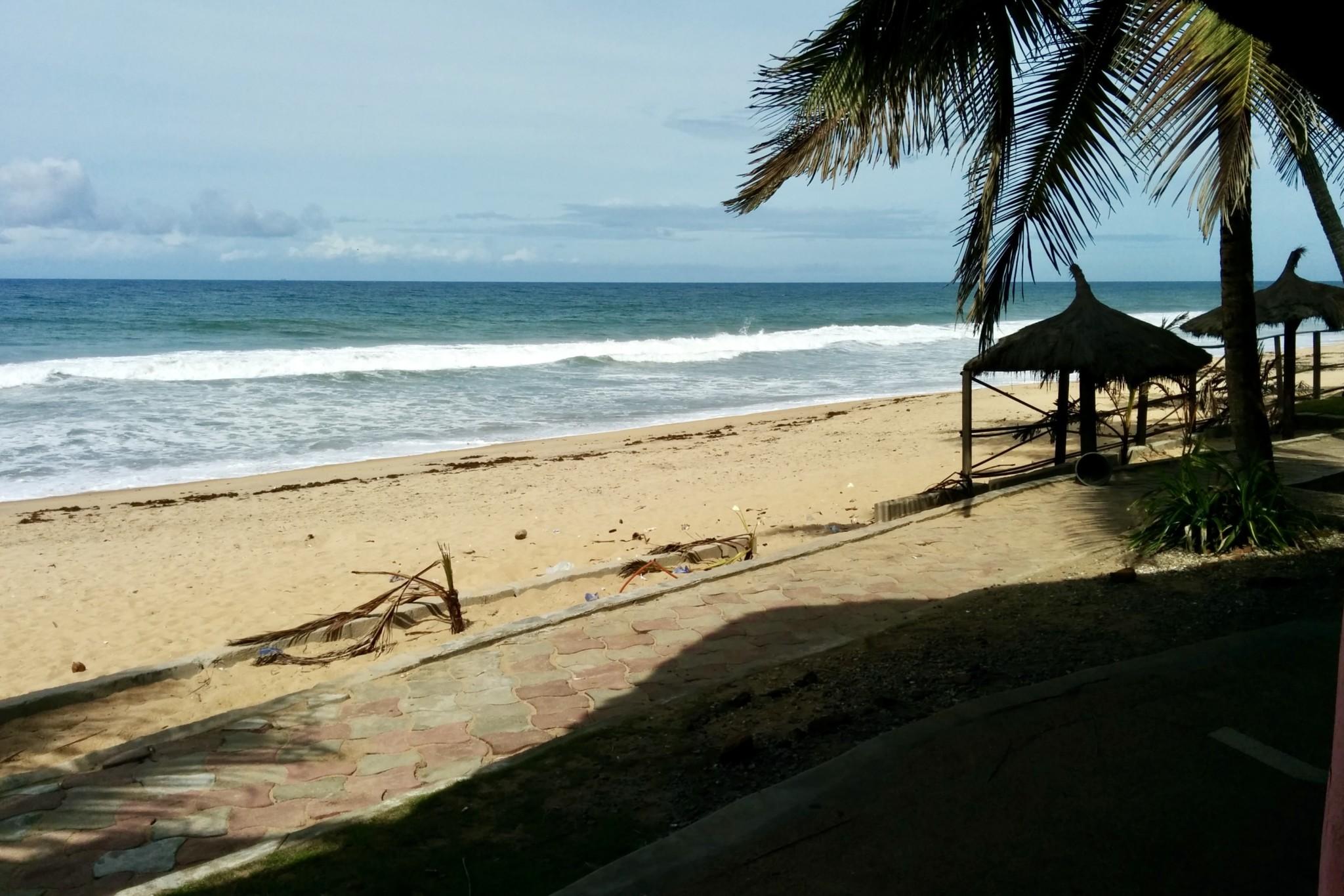 Strand in Grand Bassam