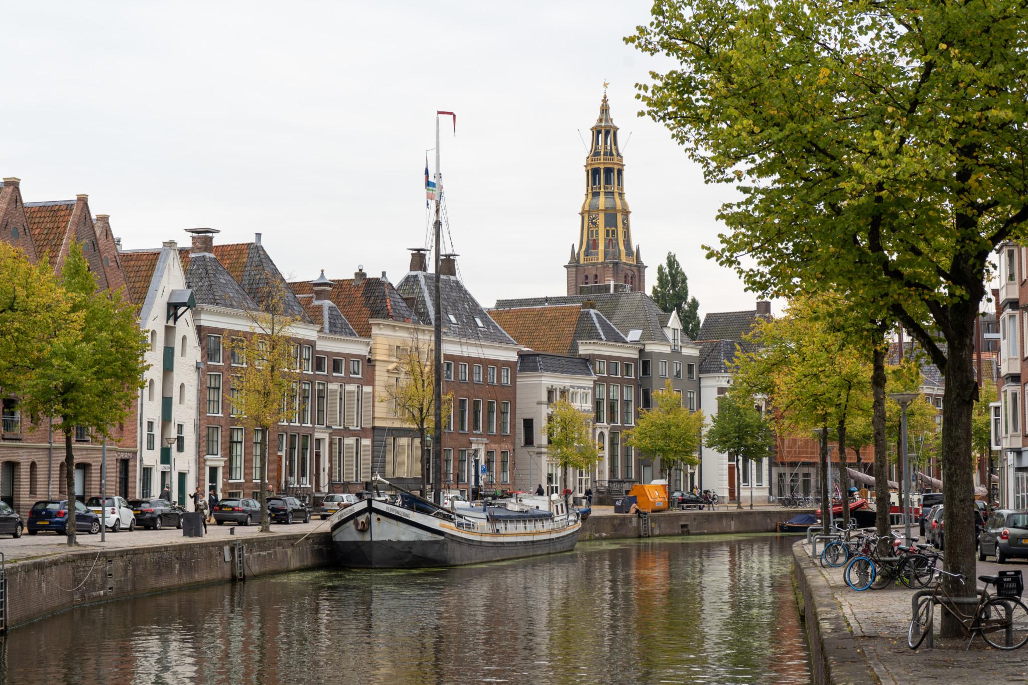 Unter den Holland Städten ist Groningen bei Studenten beliebt