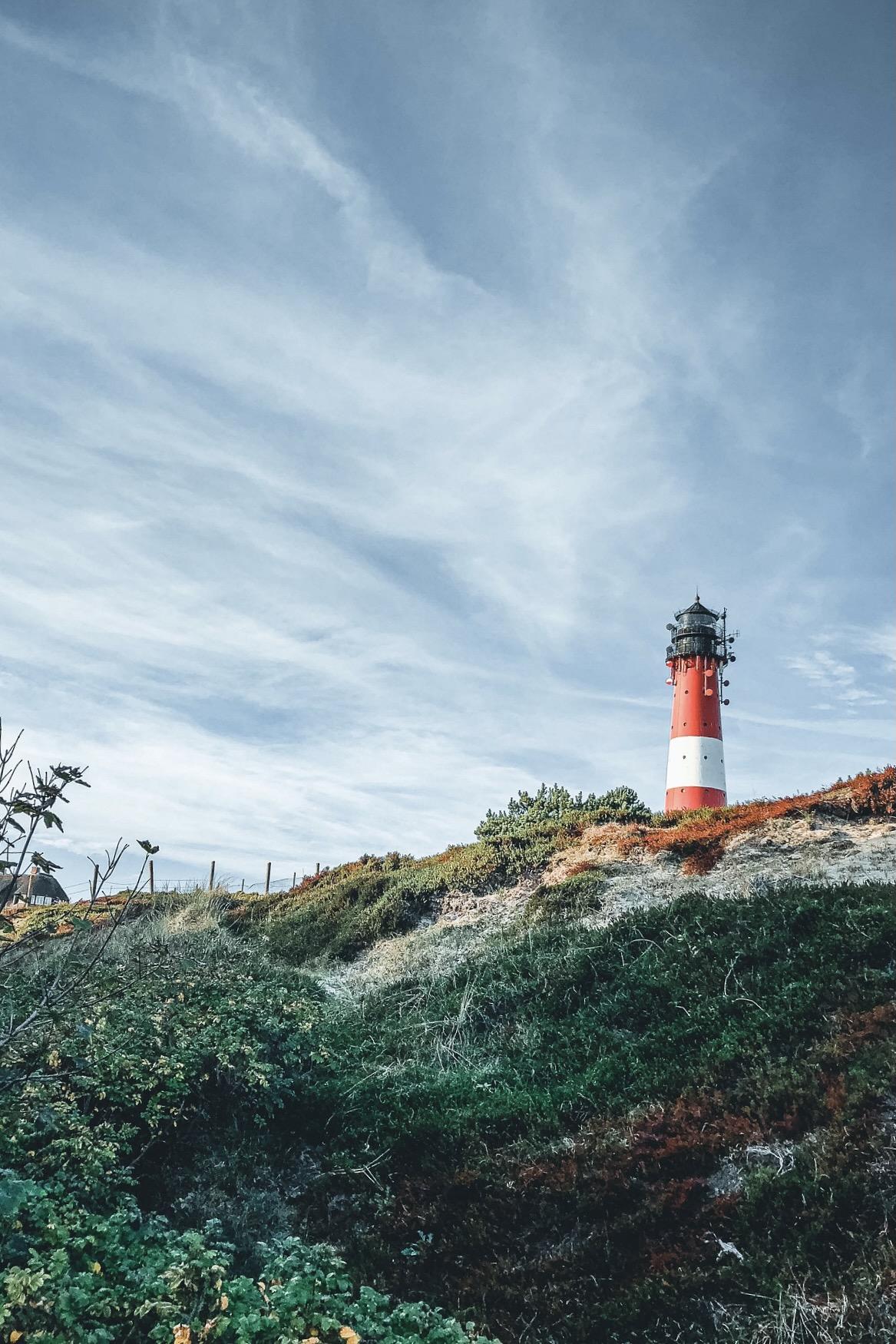 Der Leuchtturm in Hörnum ist eine der besten Sylt Sehenswürdigkeiten