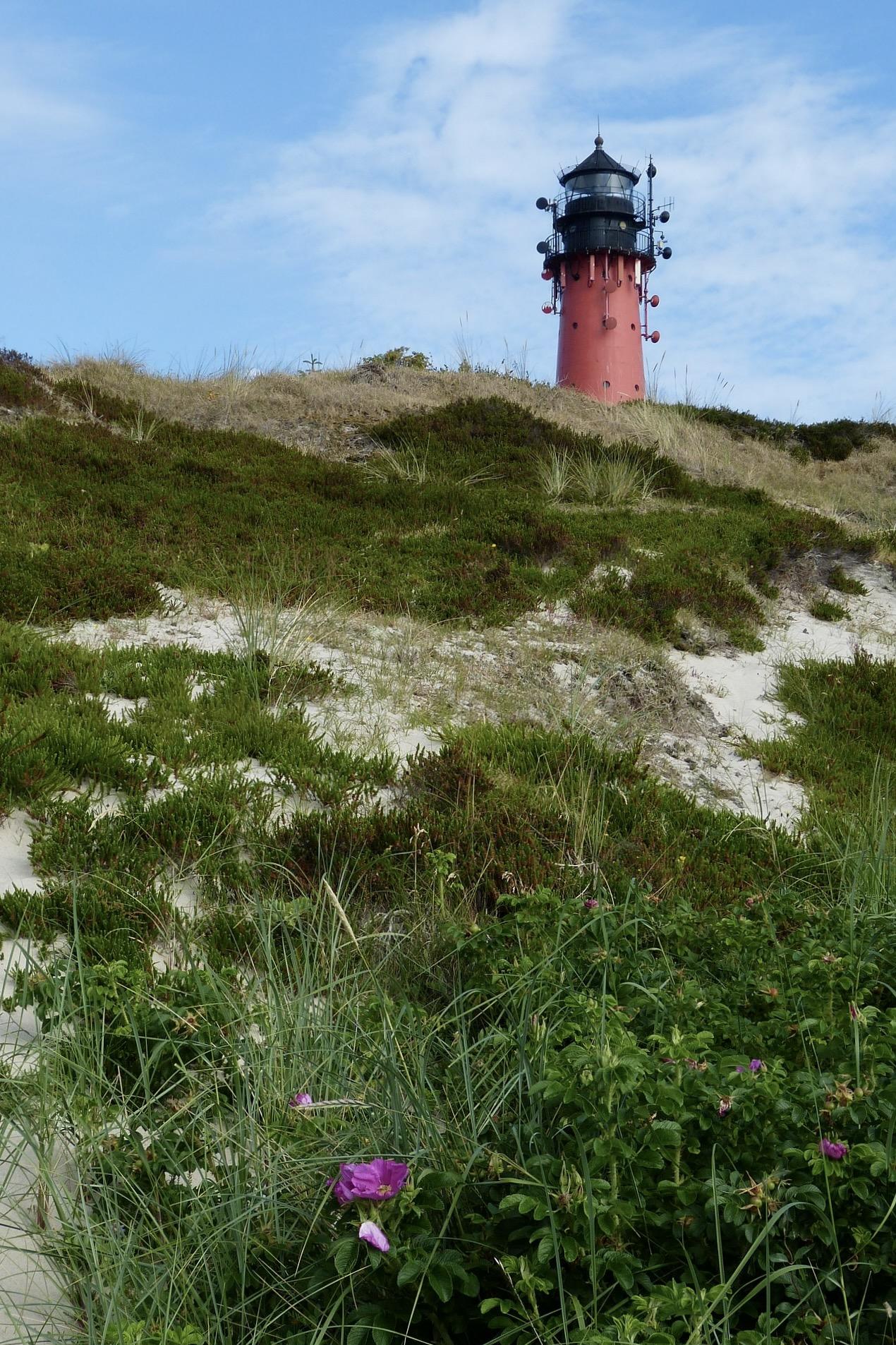 Der Hörnumer Leuchtturm