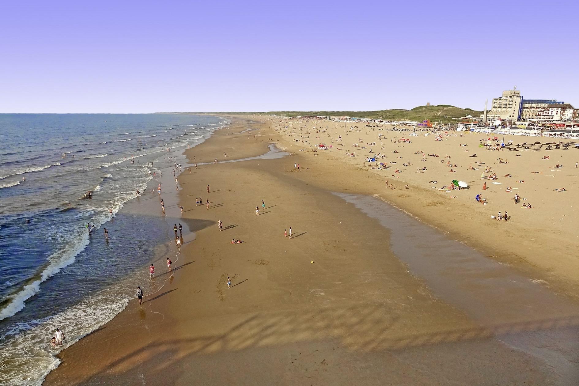 Der Strand von Kaiwijk an Zee