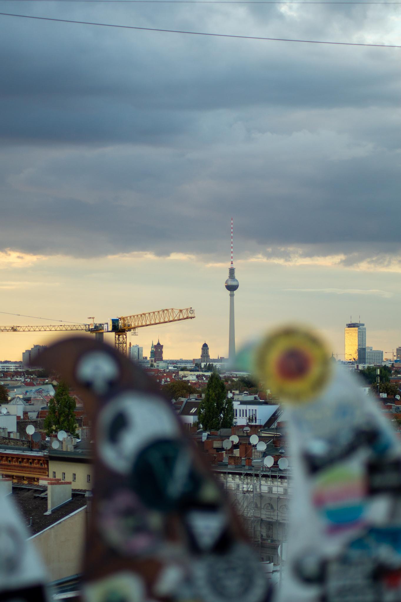 Klunkerkranich in Berlin
