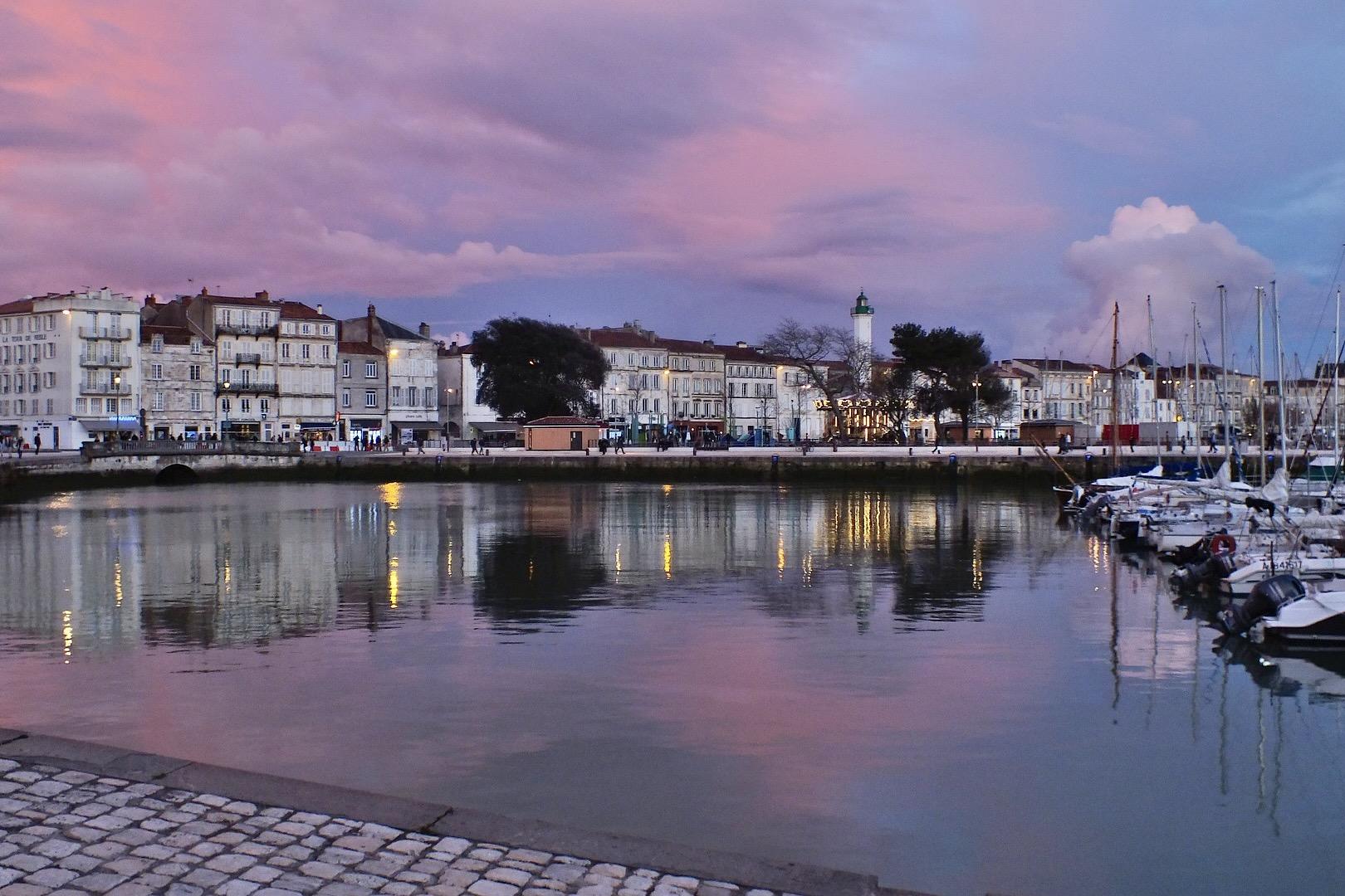 La Rochelle an der Atlantikküste in Frankreich