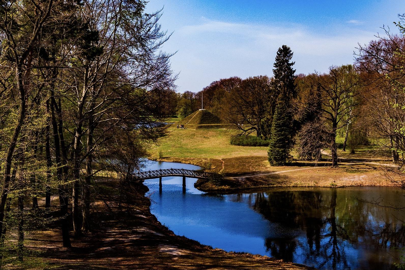 Fürst Pückler Park in der Lausitz