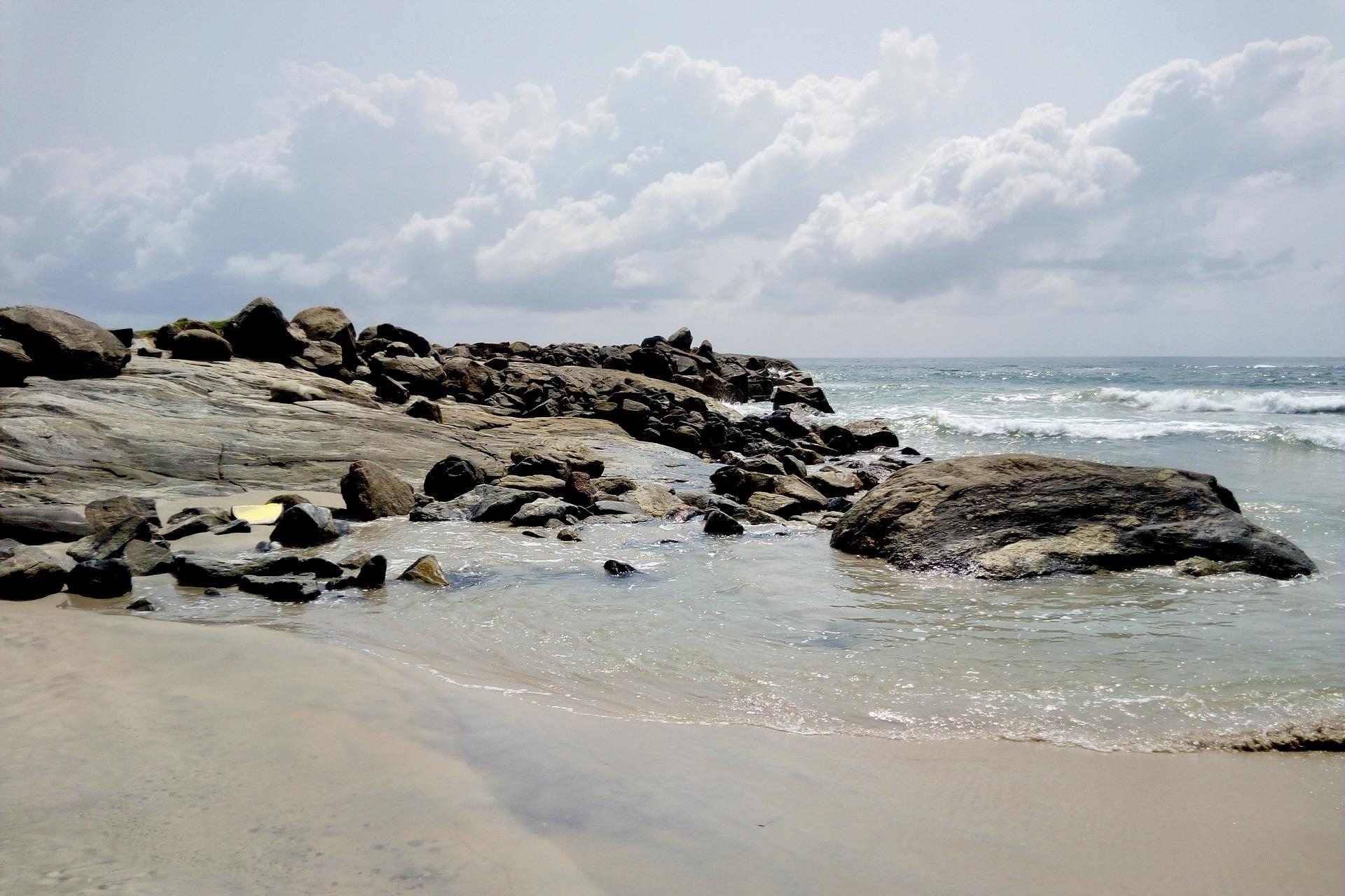 Strand an der Elfenbeinküste