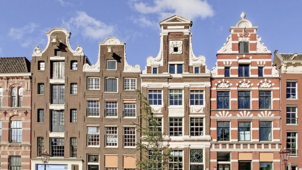 Schöne Städte in Holland