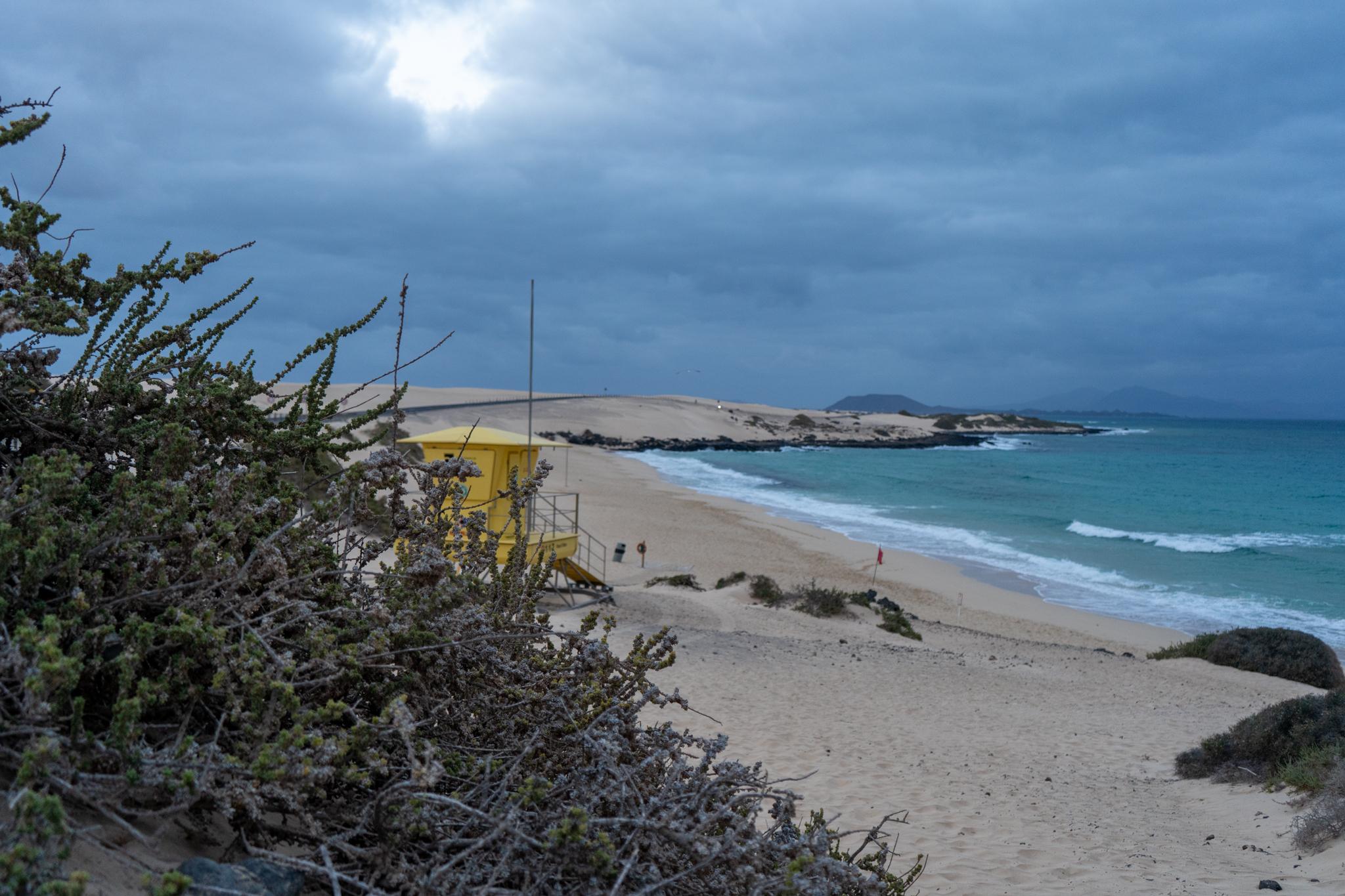 Playa Azada in Corralejo