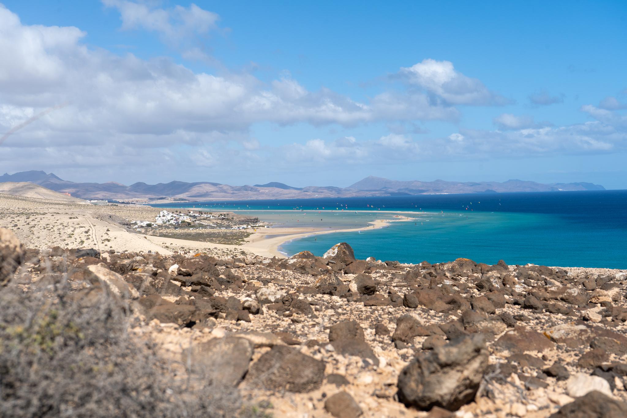 Playa Barca gehört auch zu den Sehenswürdigkeiten auf Fuerteventura