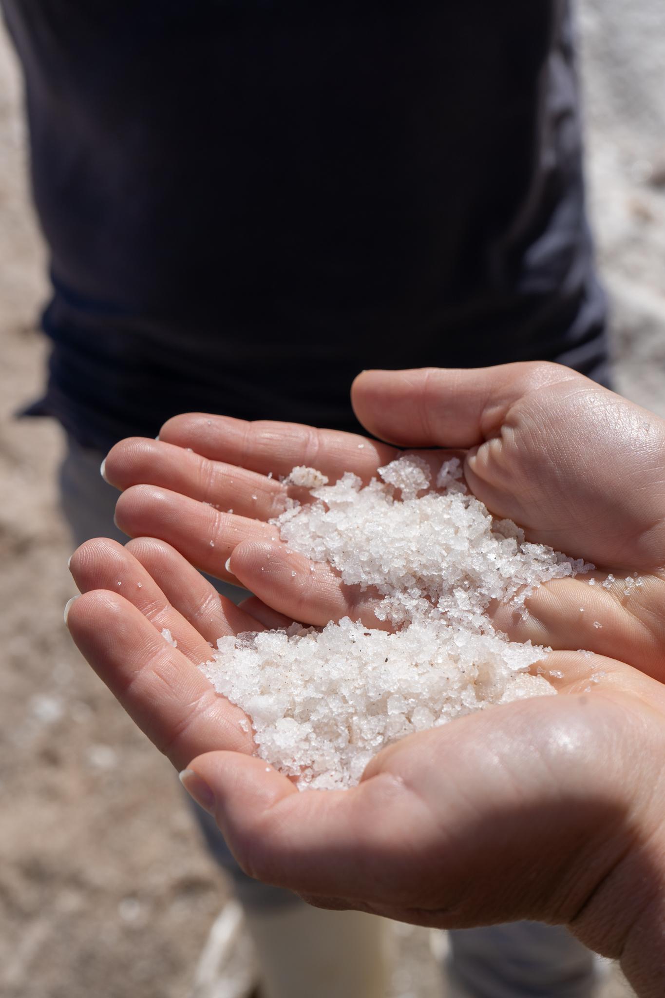 Salz auf Fuerteventura