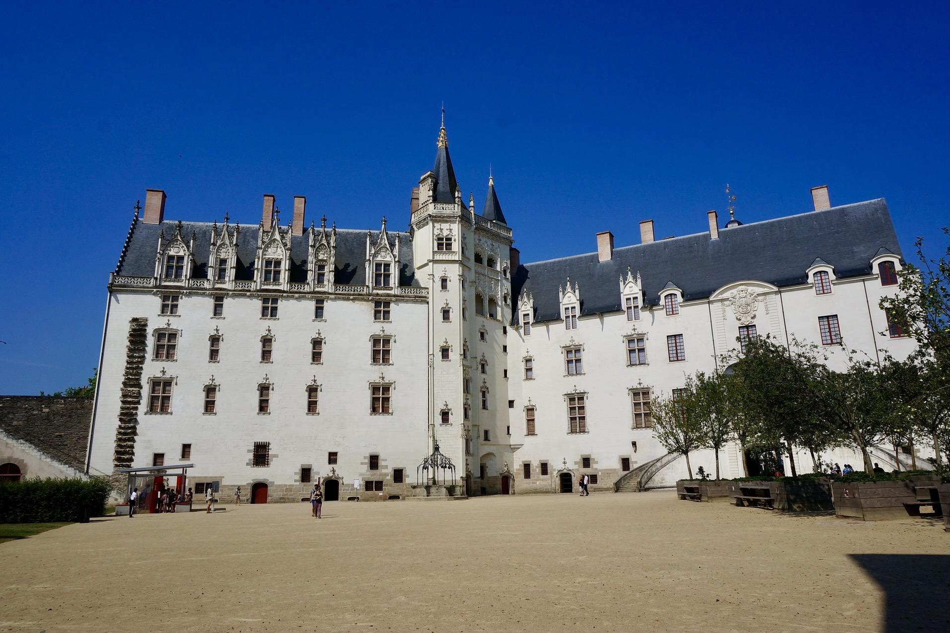 Chateau des Ducs: eine der wichtigsten Nantes Sehenswürdigkeiten