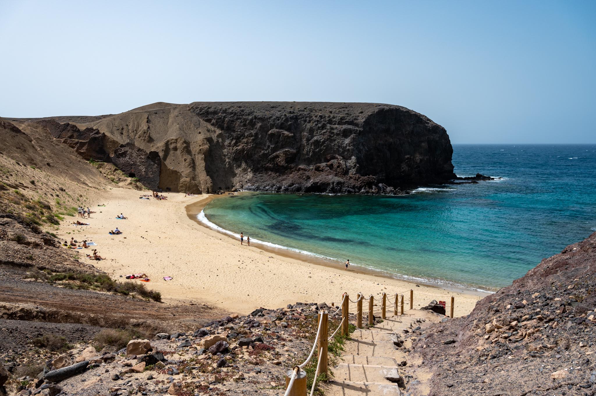 Papagayo Strände sind tolle Sehenswürdigkeiten auf Lanzarote