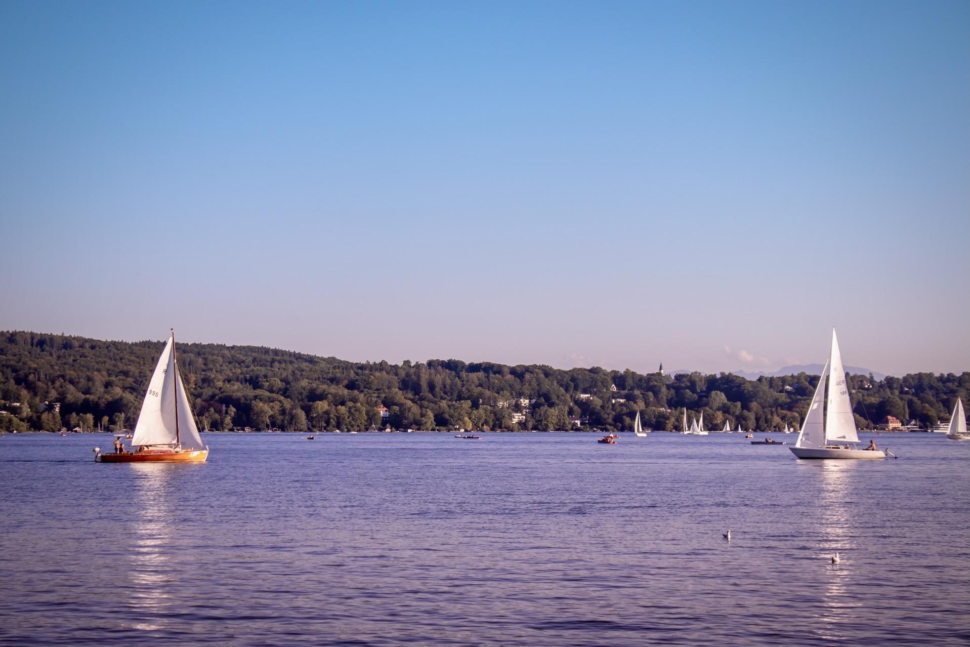 Schöne Seen in Bayern: Starnberger See