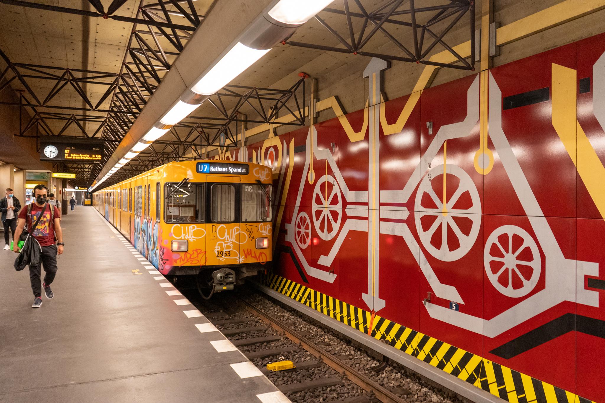 U-Bahn-Tour in Berlin