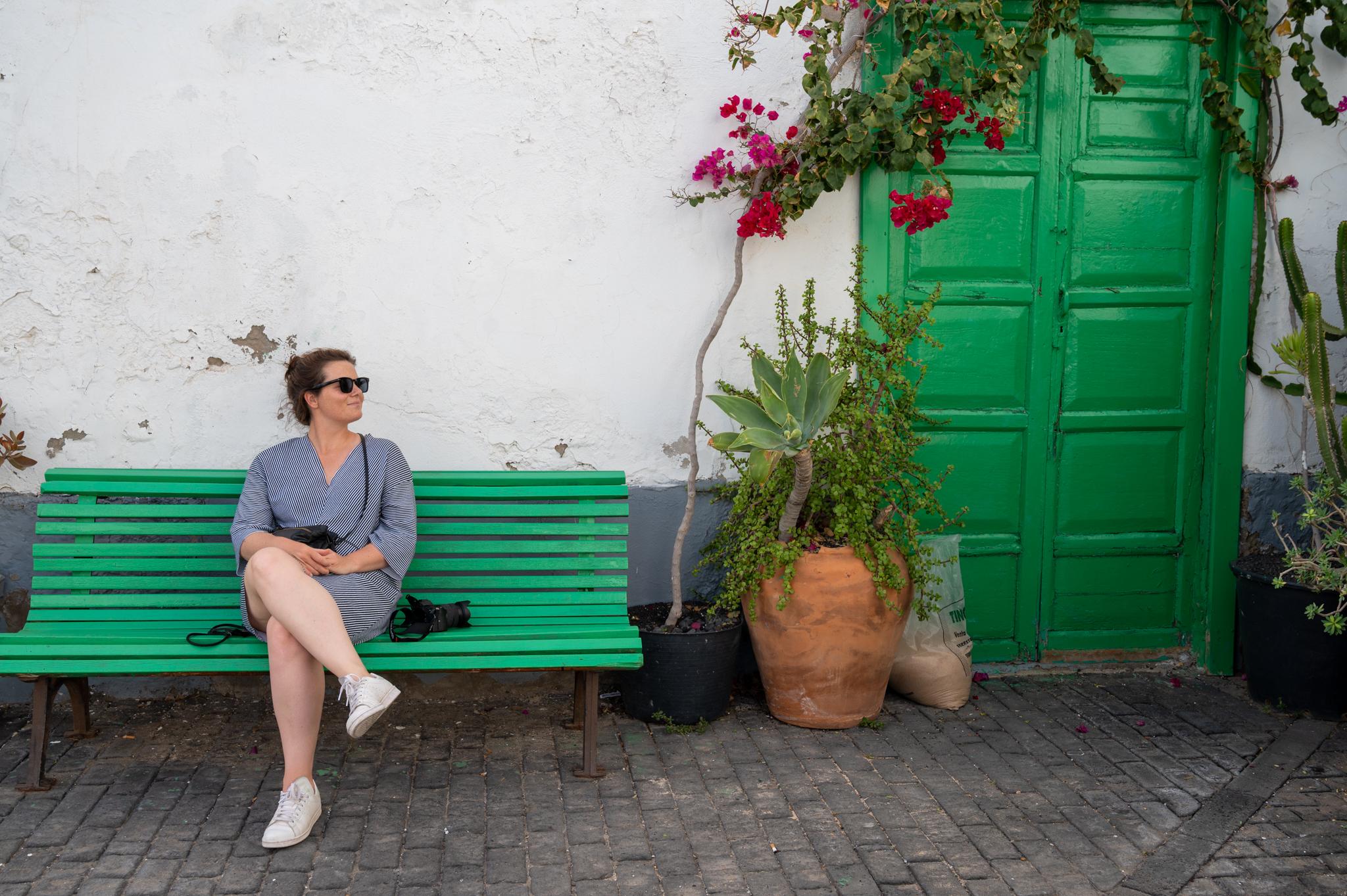 Anne in Arrecife
