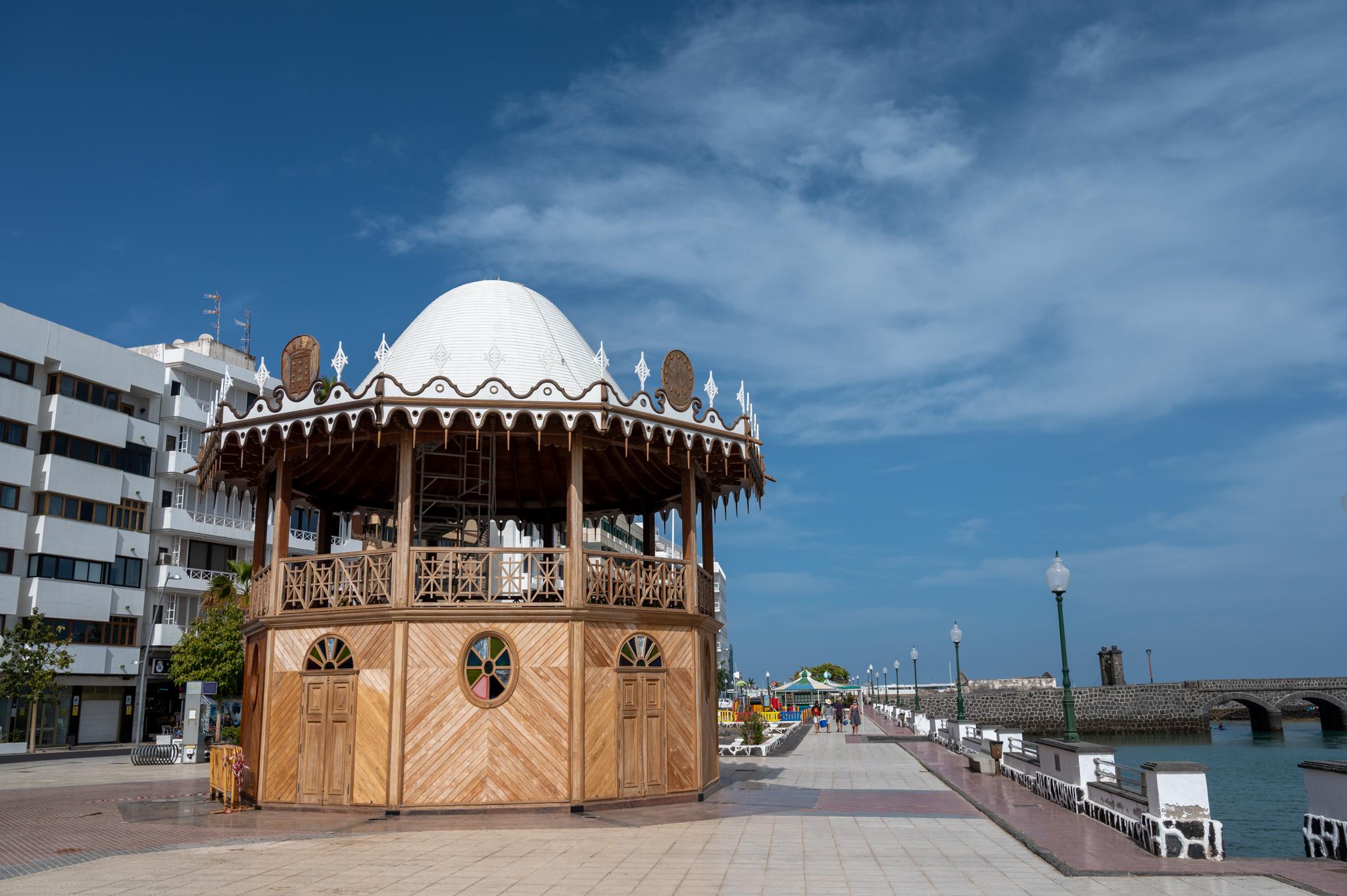 Kiosko de la Musica in Arrecife auf Lanzarote