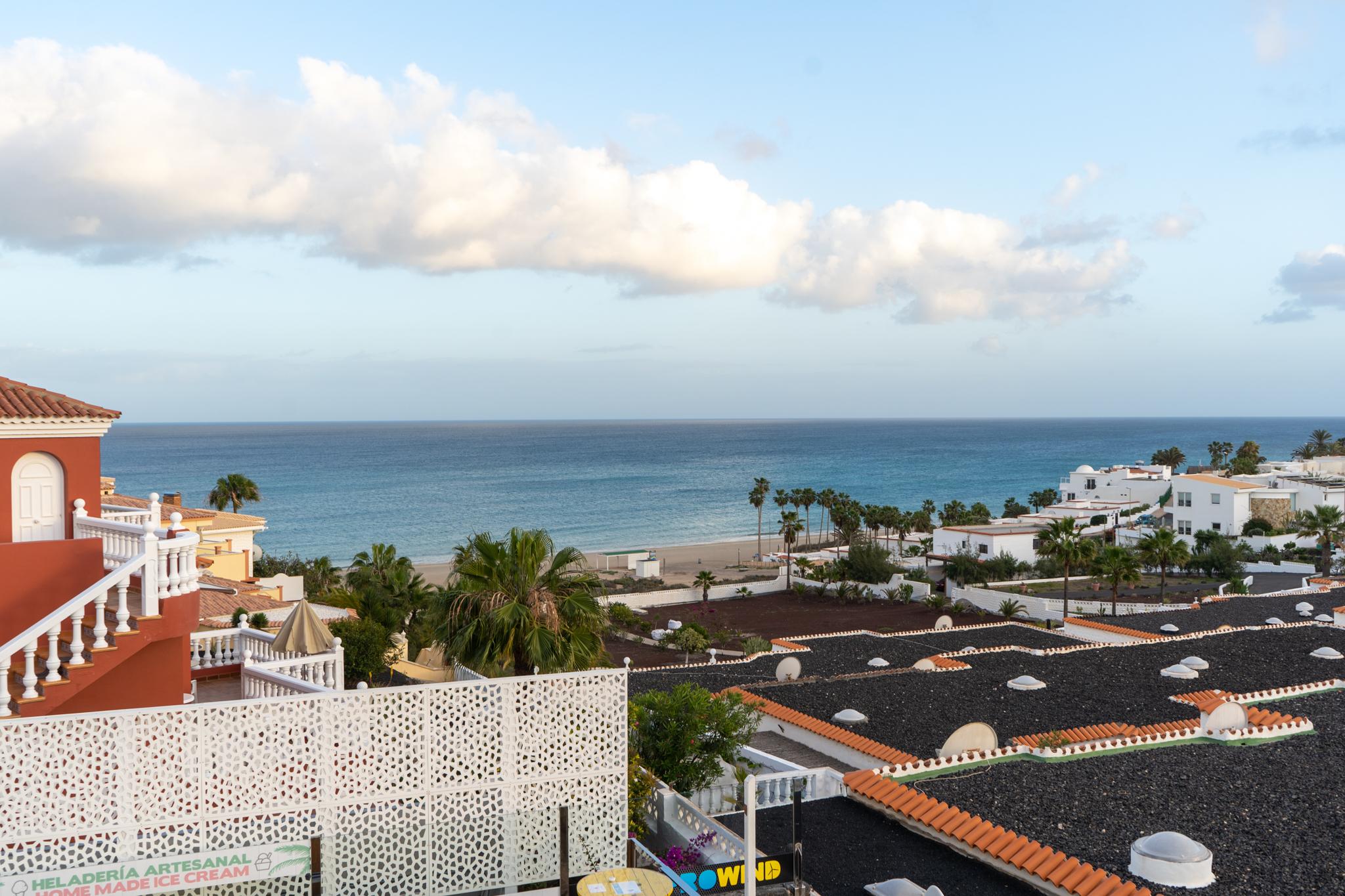 Blick von der Bar in Costa Calma