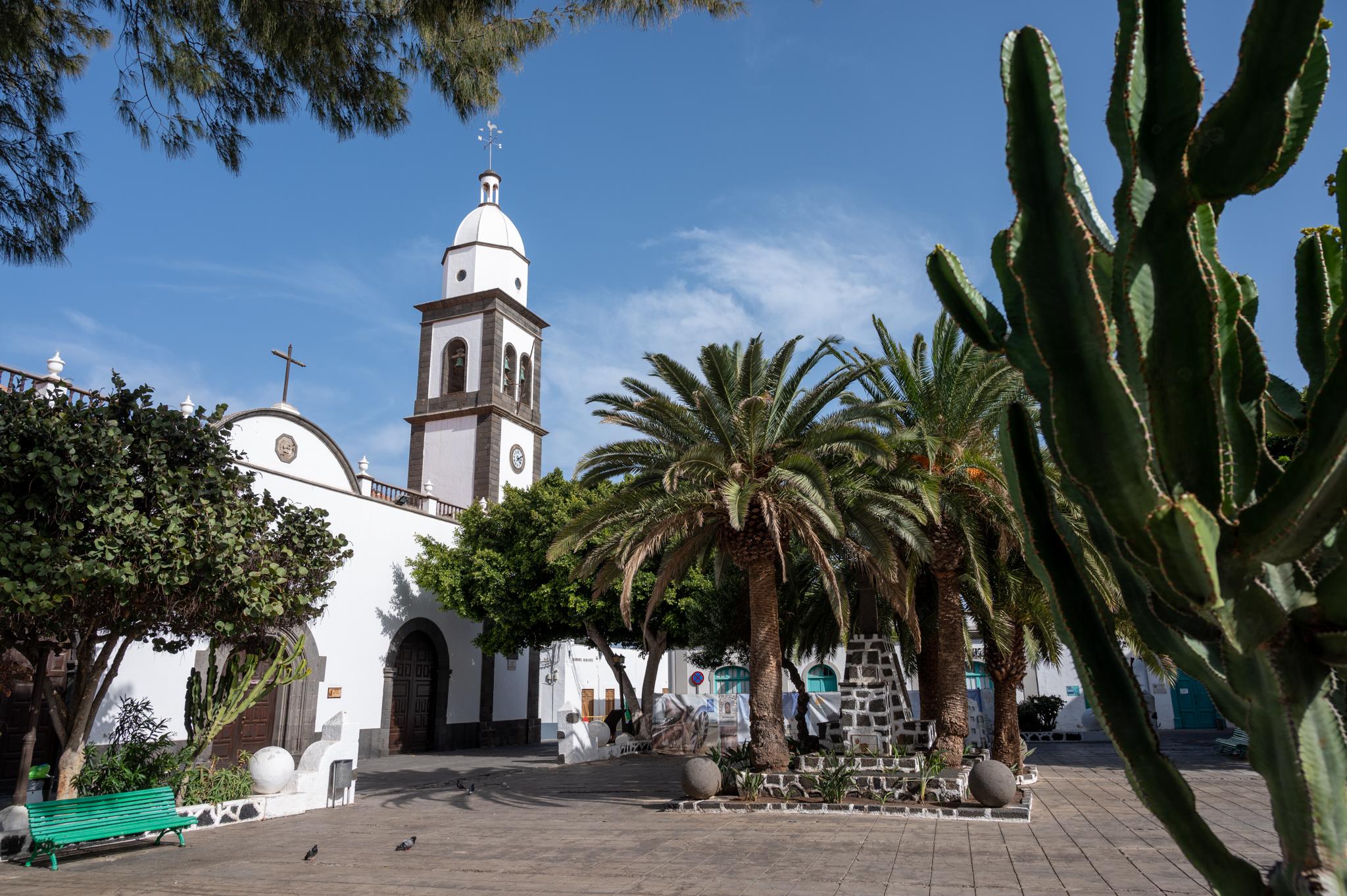 Iglesia de San Gines in Arrecife auf Lanzarote
