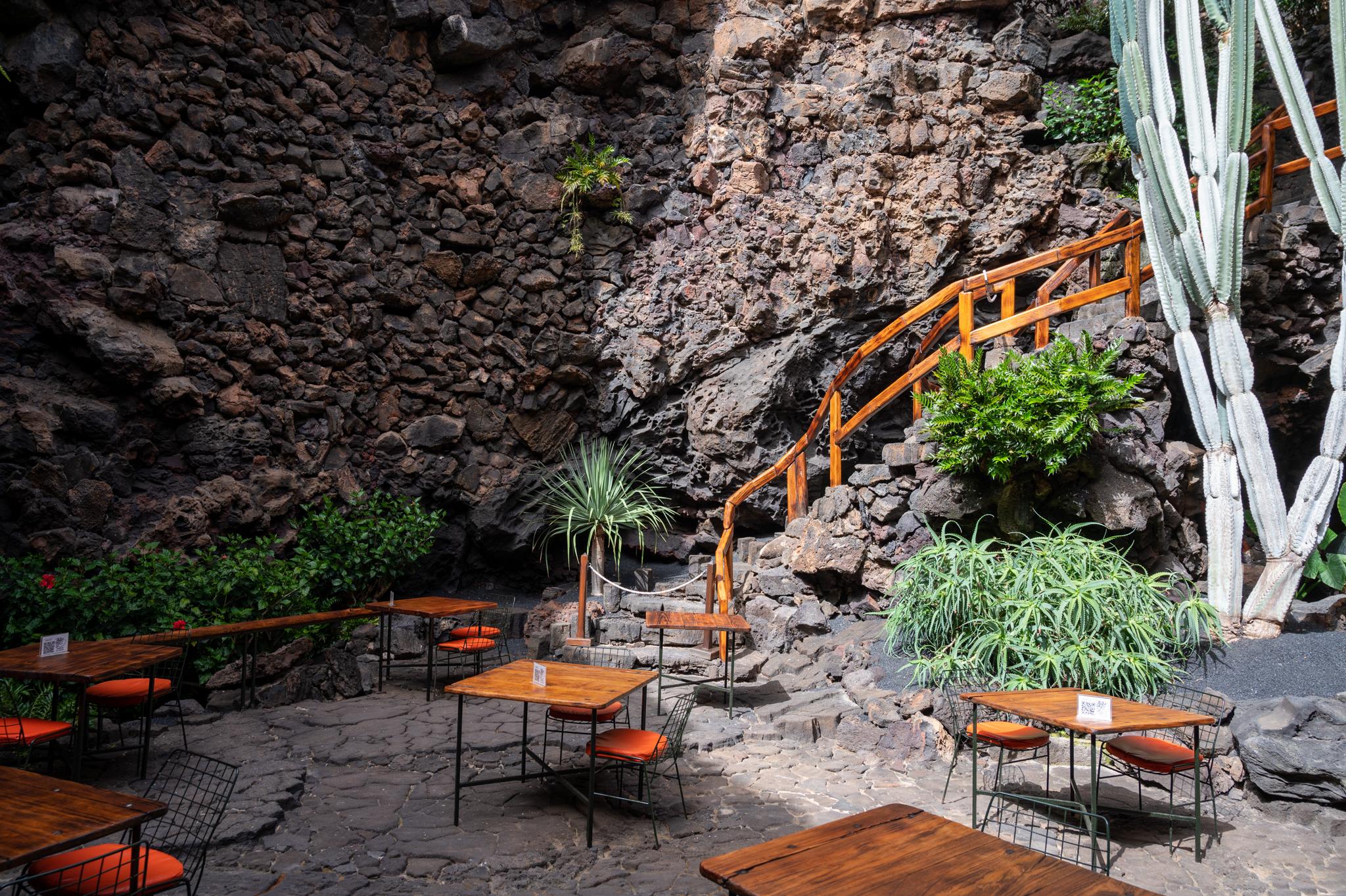 Restaurant im Jameos del Agua