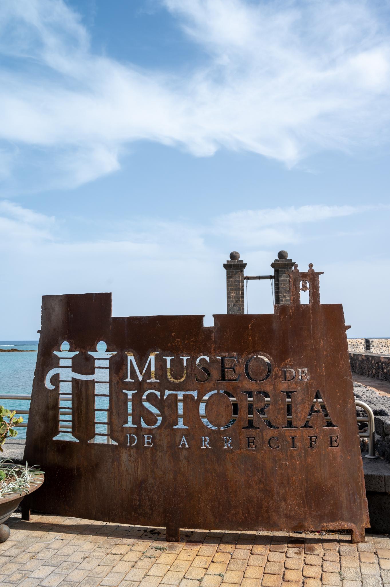 Museo de Historica im Castillo de San Gabriel in Arrecife