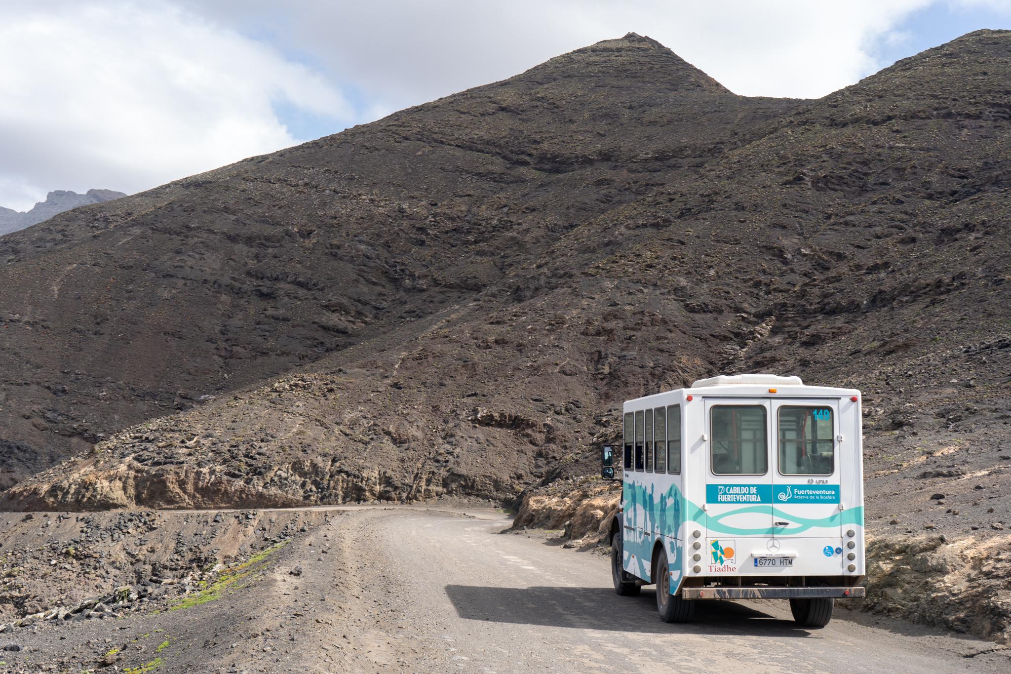 Mit dem öffentlichen Bus von Morro Jable nach Cofete in Jandia