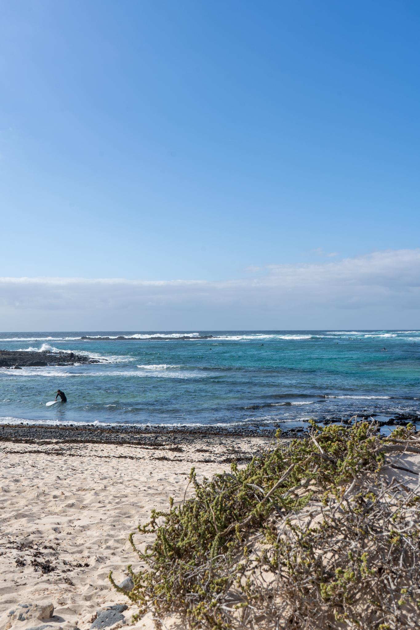 Surfen in El Cotillo