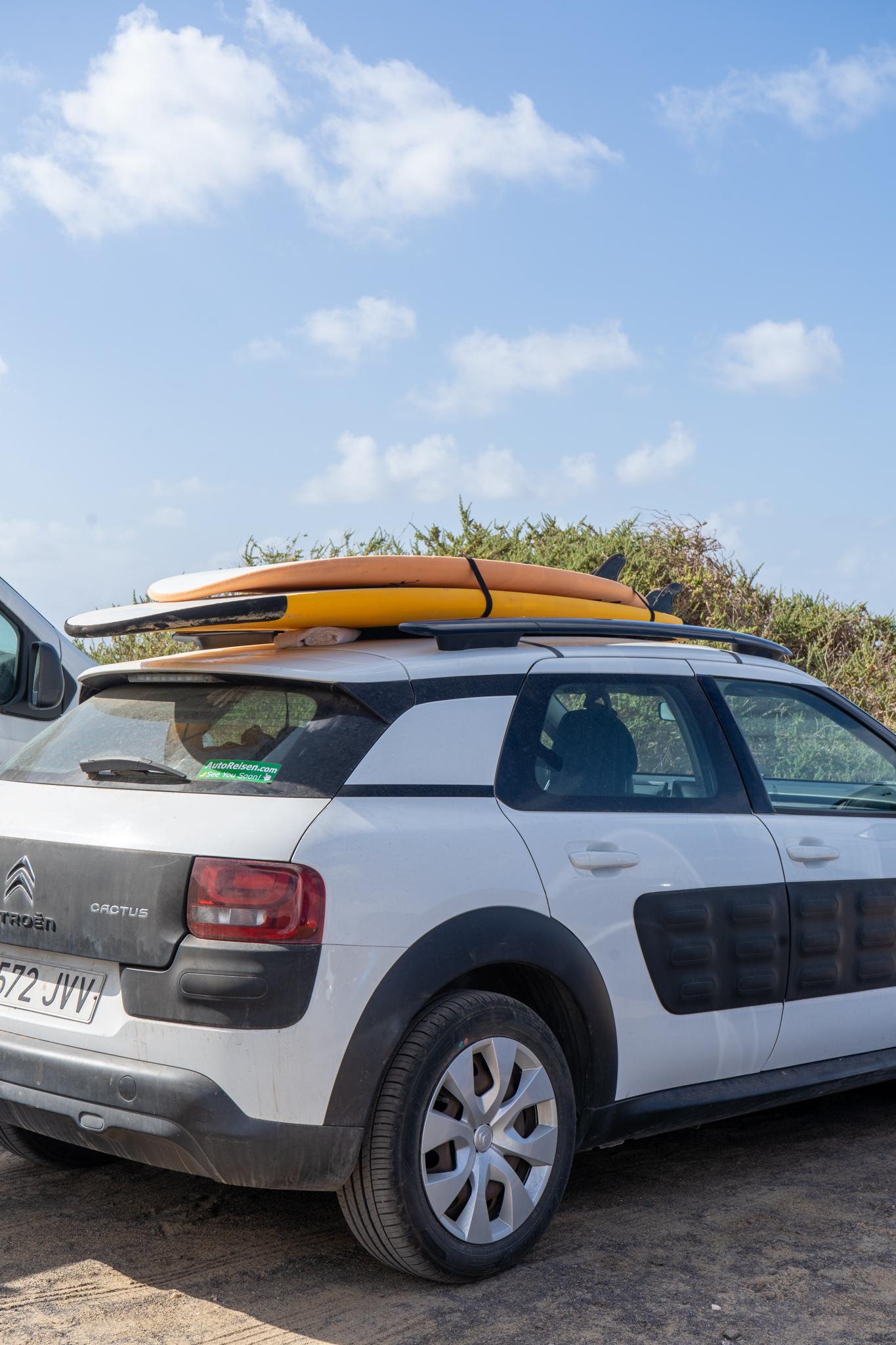 Surfen in Jandia